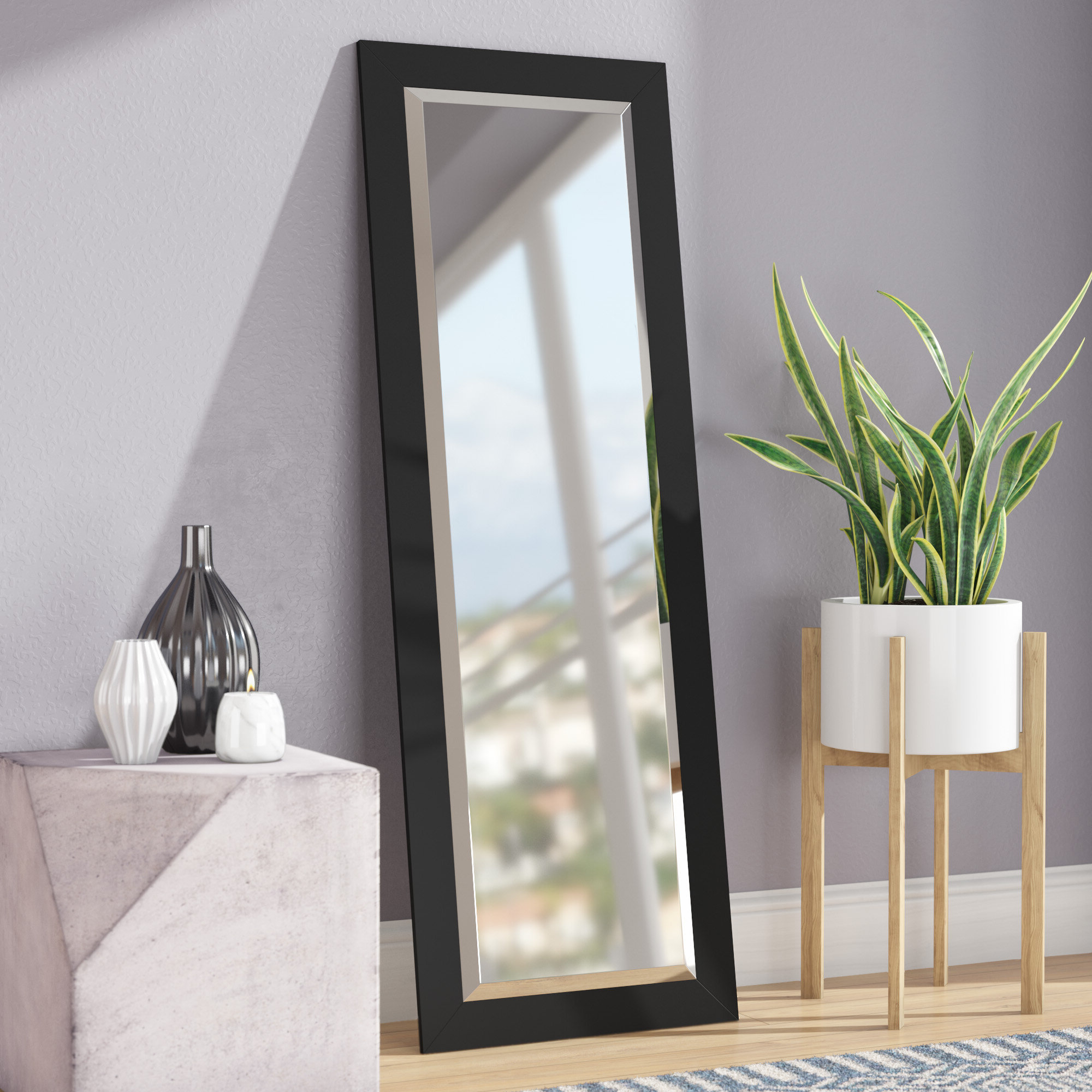 Modern & Contemporary Beveled Wall Mirrors Pertaining To Best And Newest Modern & Contemporary Beveled Wall Mirror (Gallery 10 of 20)