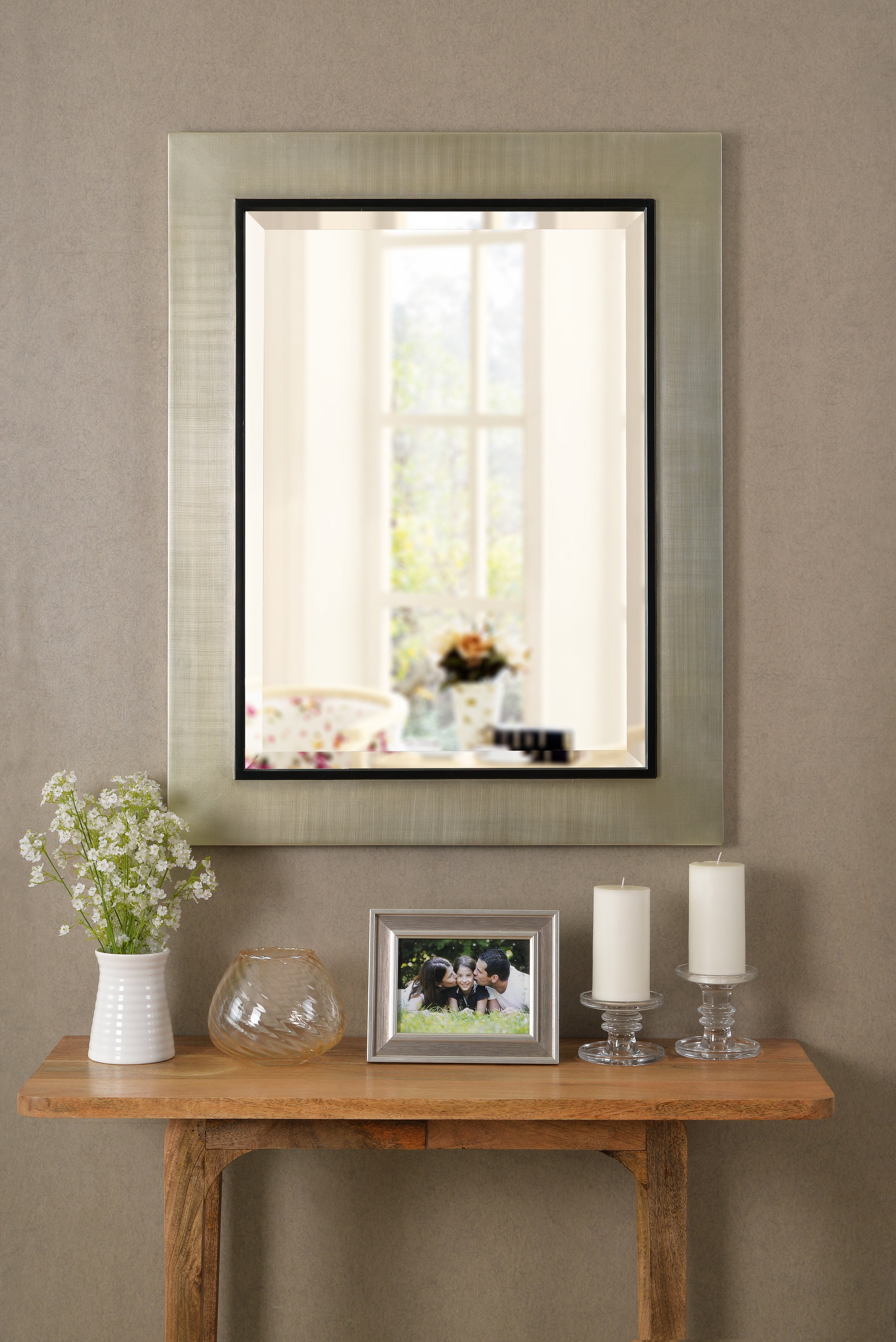 Modern & Contemporary Beveled Wall Mirrors Within Popular Dolores Modern & Contemporary Beveled Wall Mirror (View 13 of 20)