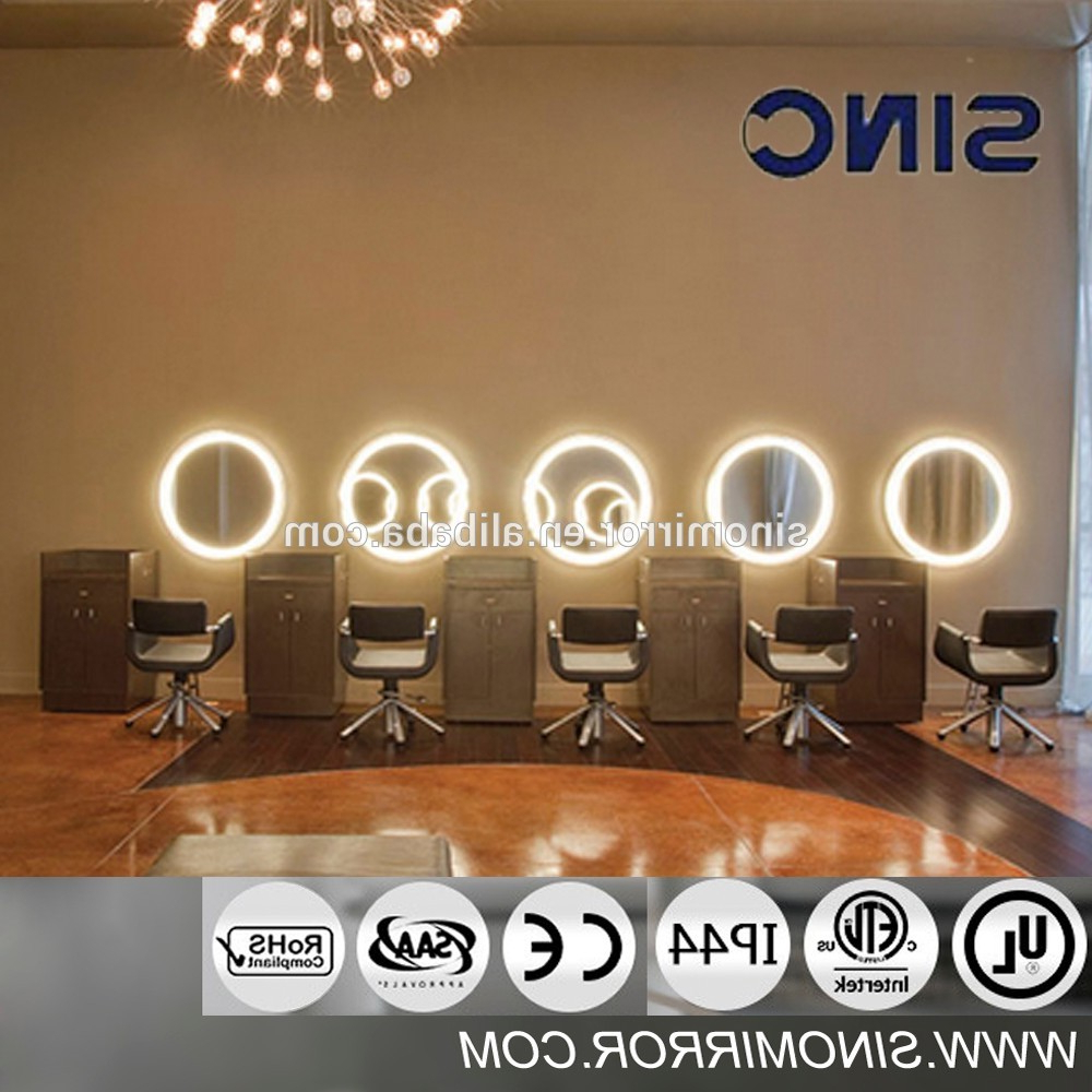 Modern Hair Salon Mirror With Led Light – Buy Hair Salon Mirror,hair Salon Wall Mirrors,makeup Mirror With Led Light Product On Alibaba Inside Preferred Salon Wall Mirrors (View 5 of 20)