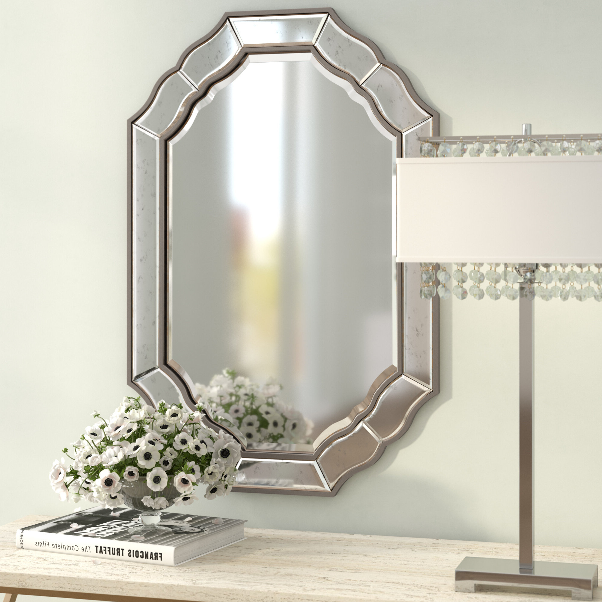 Morlan Accent Mirrors In Fashionable Vetter Accent Mirror (View 5 of 20)