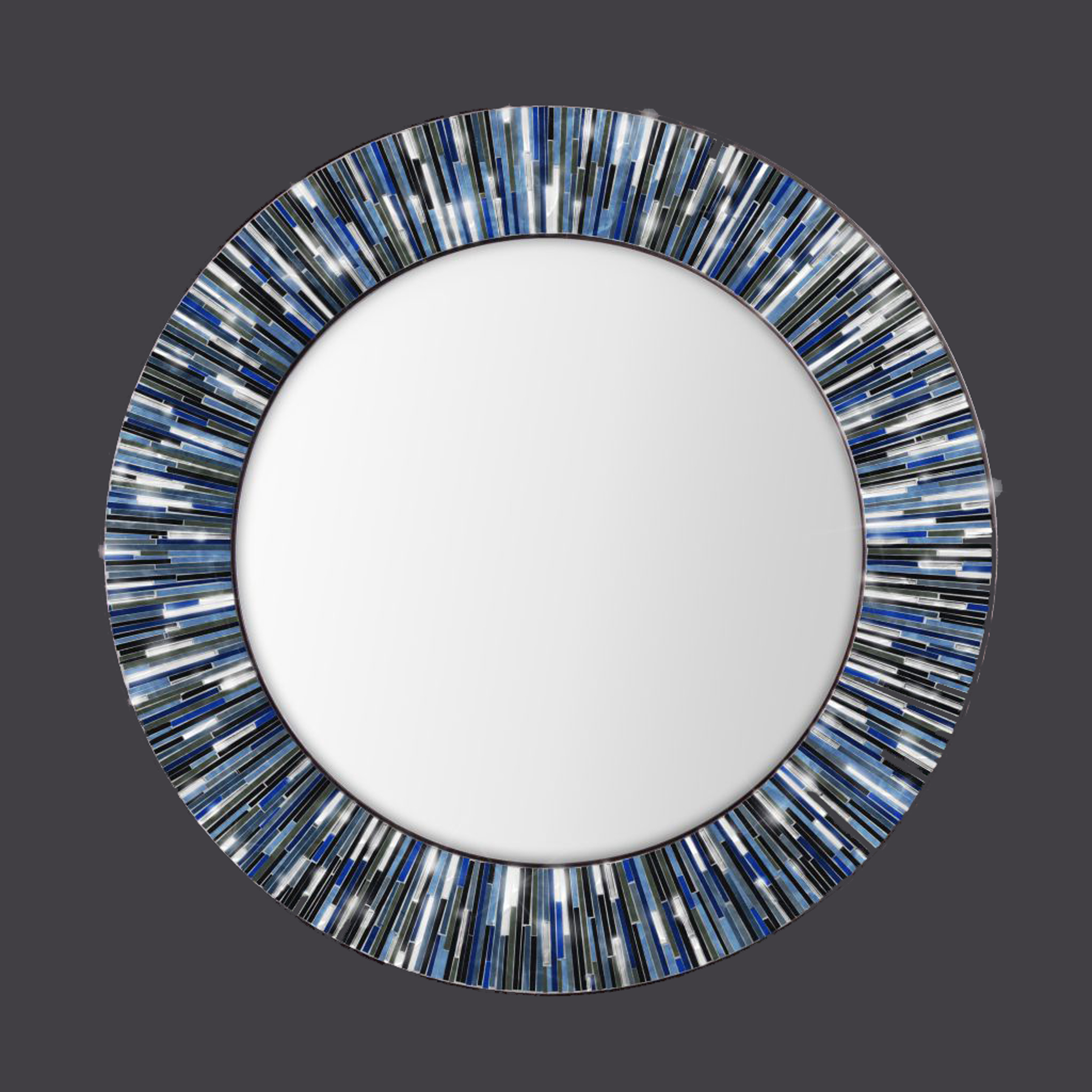 Mosaic Wall Mirrorspiaggi Tile Mirror Frame Large Decoration For Preferred Glass Mosaic Wall Mirrors (View 18 of 20)