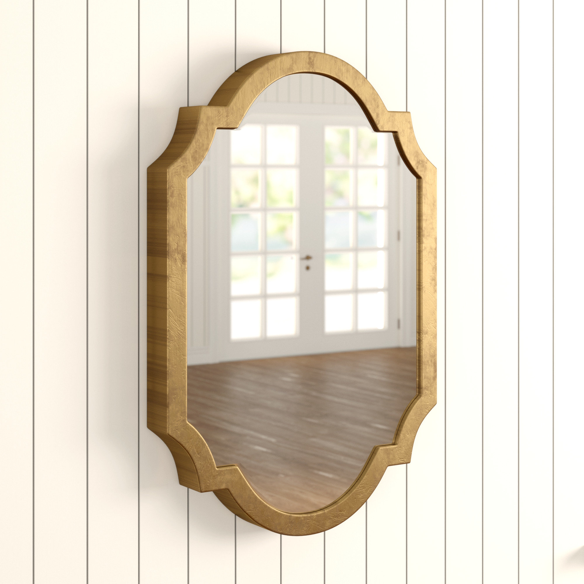 Moseley Accent Mirrors Intended For 2020 Astrid Modern & Contemporary Accent Mirror (View 4 of 20)