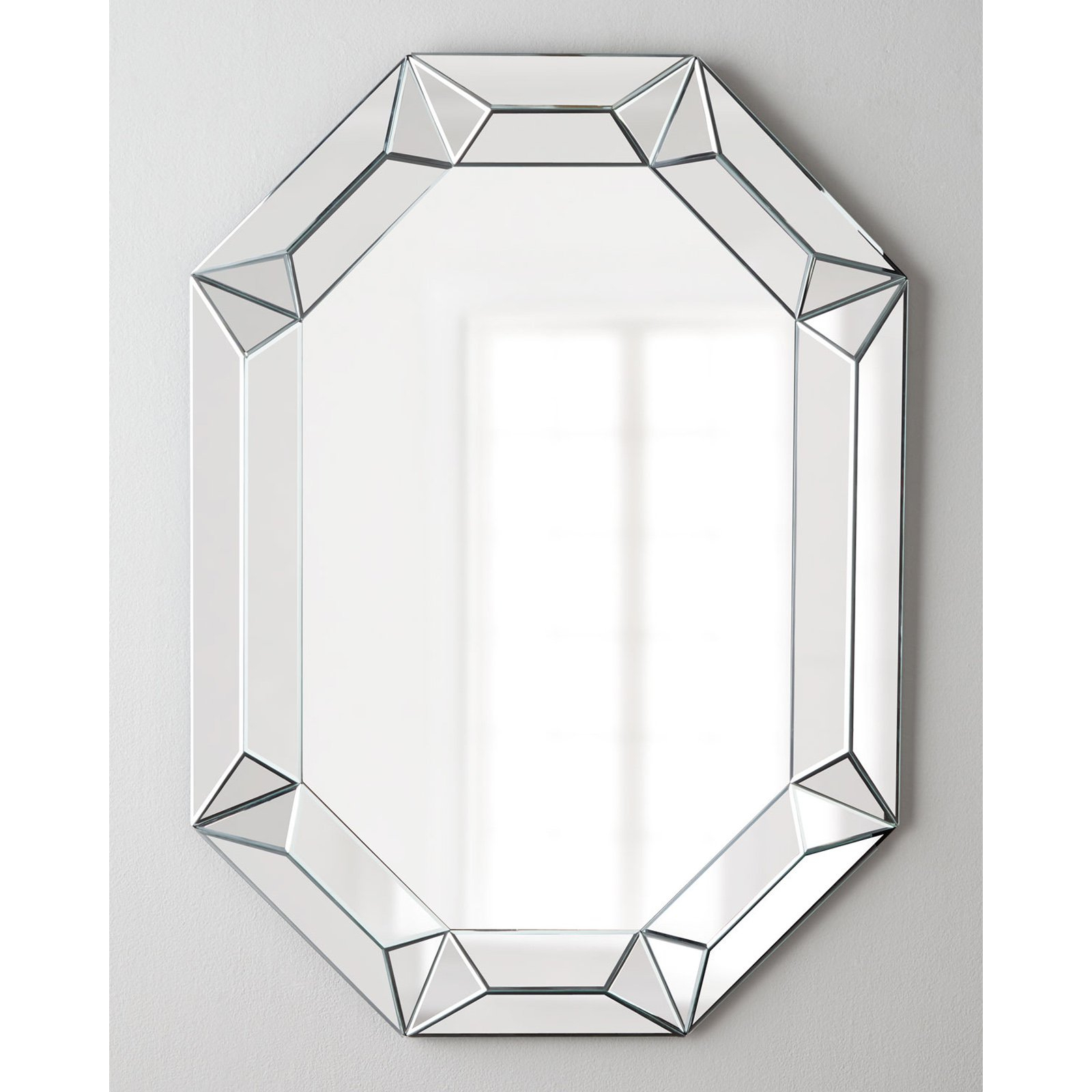 Most Current Afina Modern Luxe Octagon Wall Mirror – 28w X 42h In (View 8 of 20)