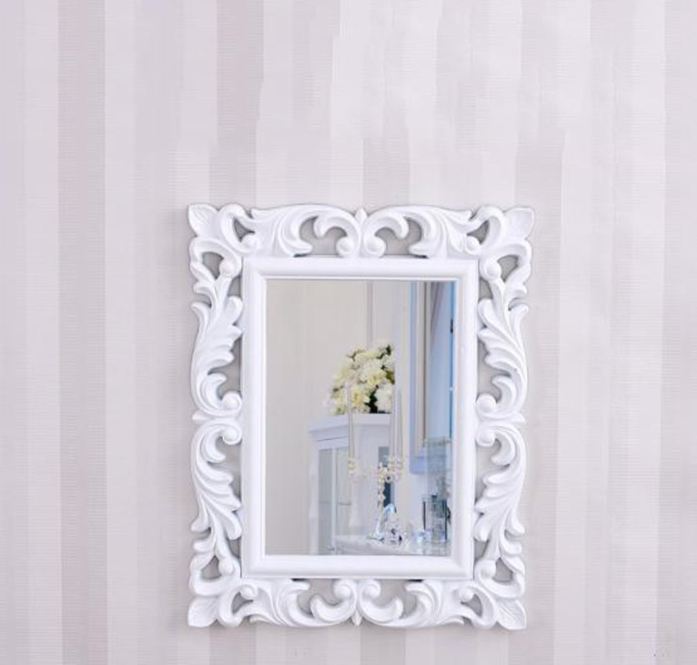 Most Current Amazon: Dadao European Bathroom Mirror Plastic Wall Pertaining To Large Plastic Wall Mirrors (View 16 of 20)