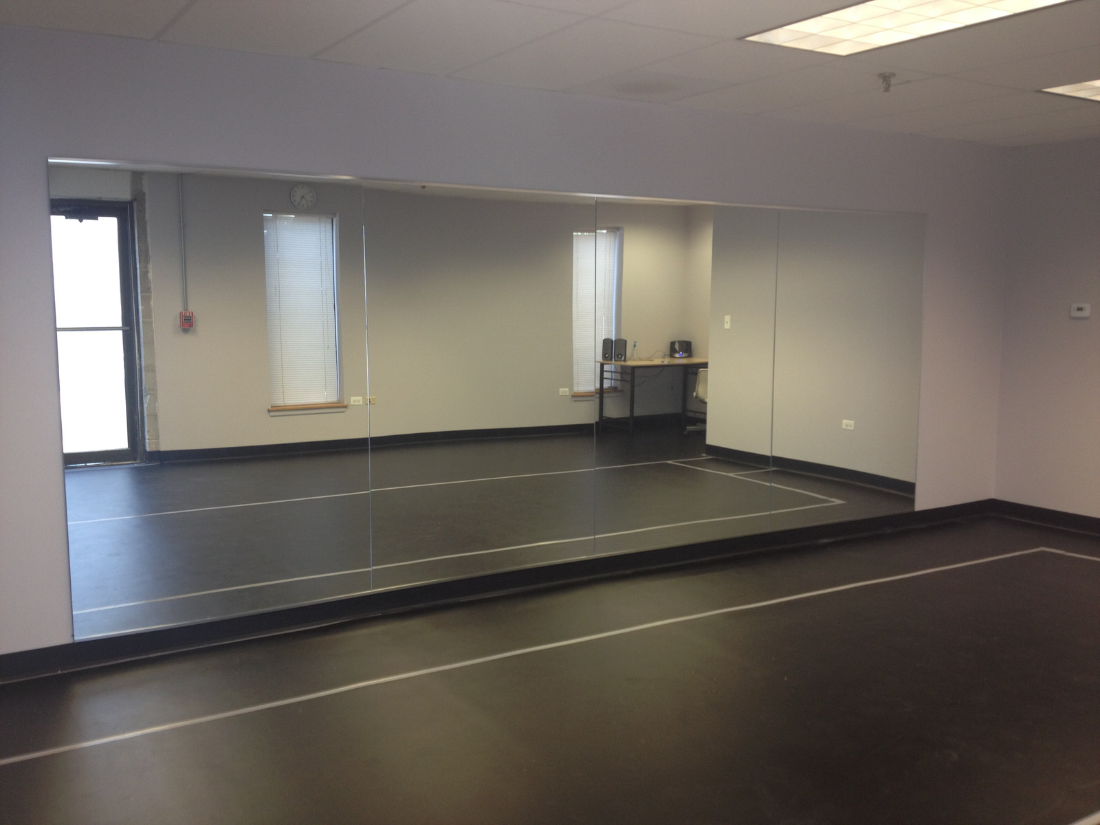 Most Current Dance Wall Mirrors Intended For Dance Studio C (View 12 of 20)