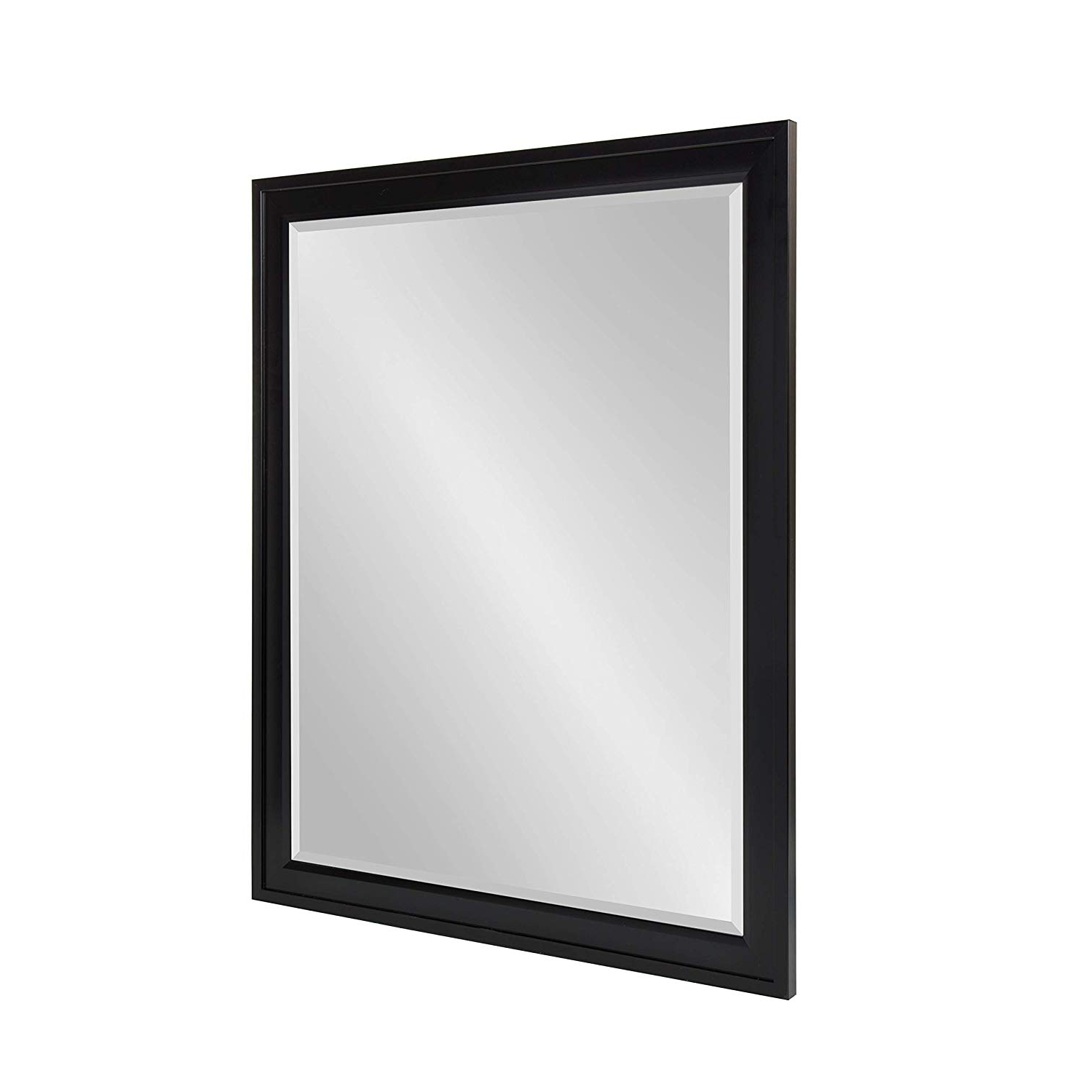 Most Current Designovation Bosc Large Framed Rectangle Wall Mirror, 27.5x (View 7 of 20)