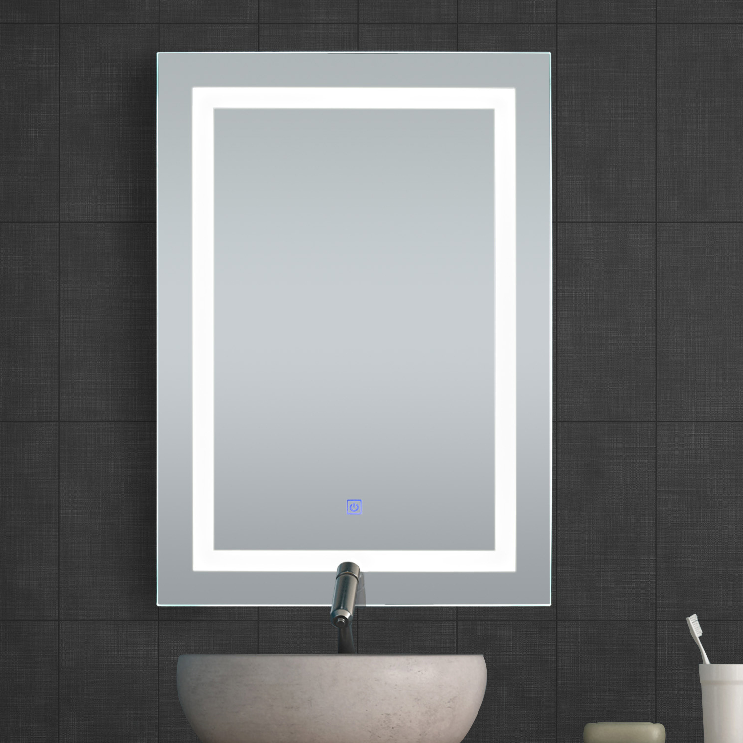 Most Current Details About Illuminated Led Bathroom Vanity Mirrors With Lights Modern Makeup Wall Mirror Regarding Vanity Wall Mirrors For Bathroom (View 13 of 20)