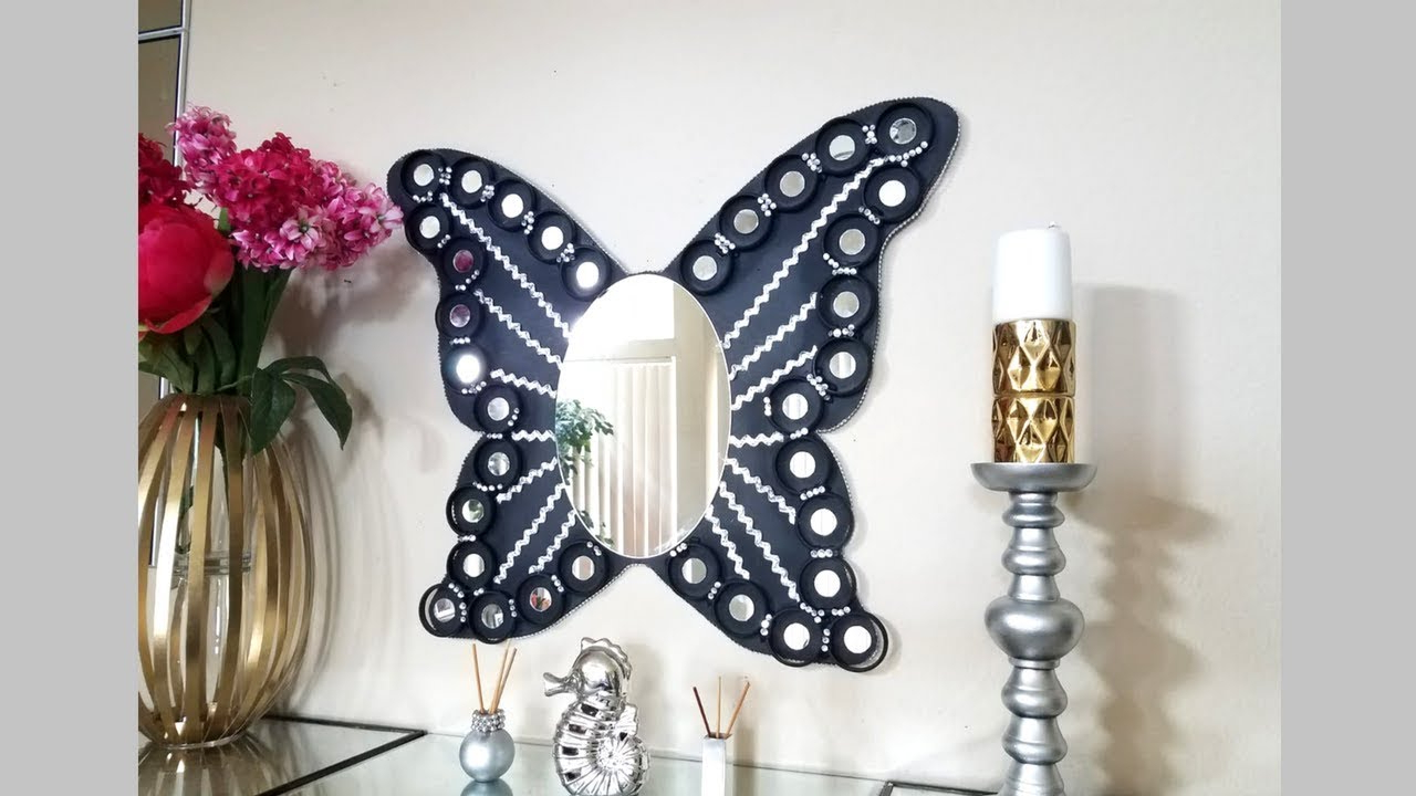Most Current Diy Lighted Butterfly Wall Mirror (View 13 of 20)