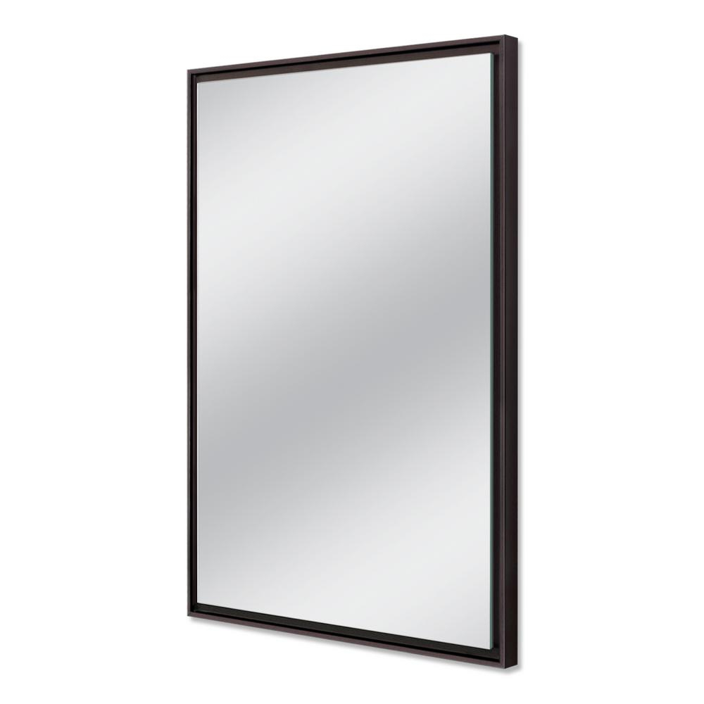 Most Current Espresso Wall Mirrors Inside Deco Mirror 26 In. W X 38 In (View 16 of 20)