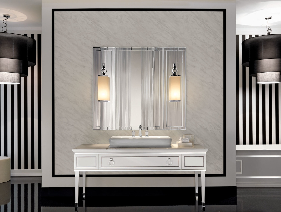 Most Current Extraordinary Inspiration Fancy Bathroom Wall Mirrors Mirror Most With Fancy Bathroom Wall Mirrors (View 2 of 20)