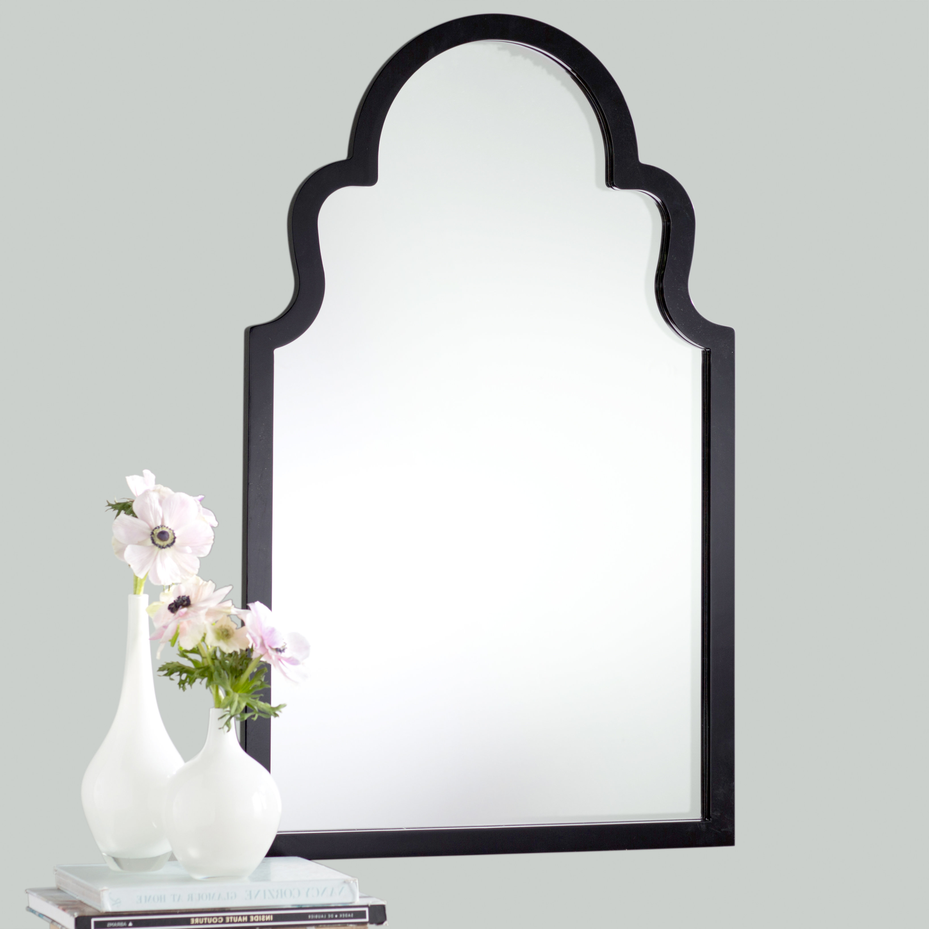 Most Current Fifi Contemporary Arch Wall Mirror Pertaining To Fifi Contemporary Arch Wall Mirrors (View 14 of 20)