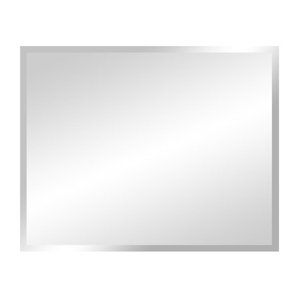 Most Current Frameless Wall Mirrors Within Bellaterra Home Matoury 29 In. X 23 In (View 9 of 20)