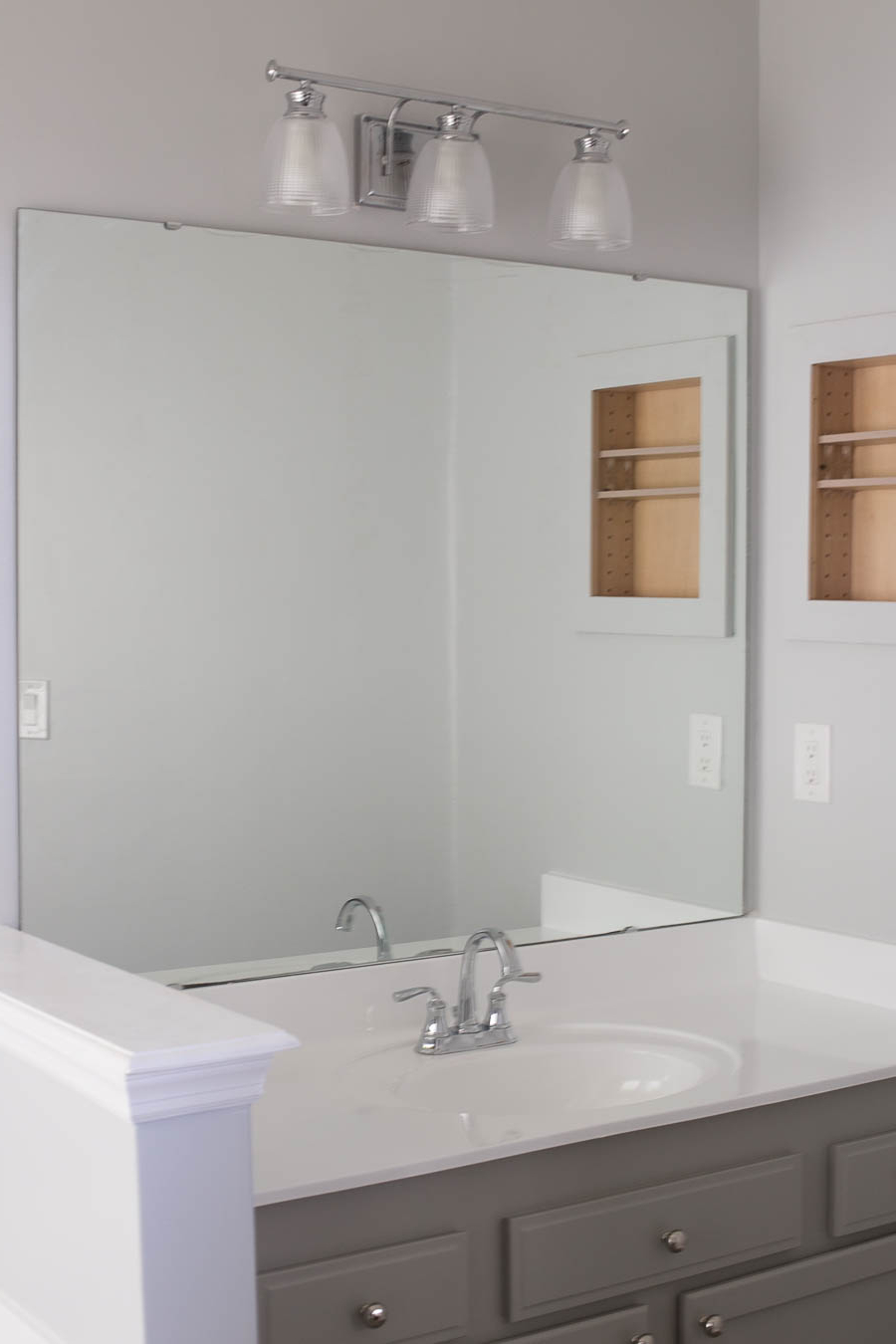 Most Current Frames For Bathroom Wall Mirrors Inside Framed Bathroom Mirrors Is Cool Beveled Wall Mirror Is Cool Wood (View 14 of 20)