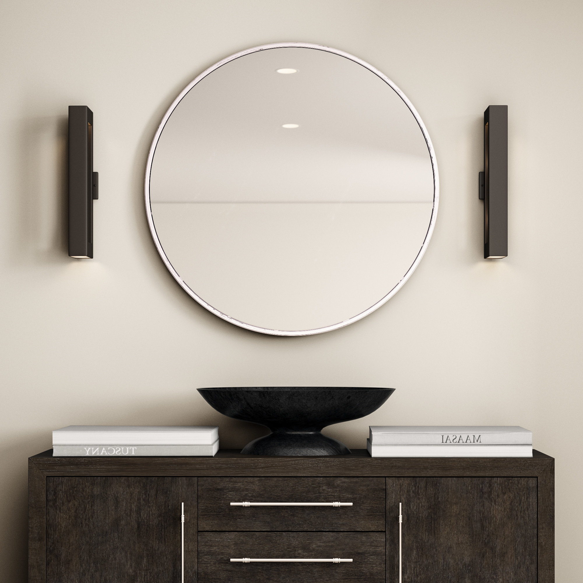 Most Current Gaunts Earthcott Modern & Contemporary Beveled Accent Mirrors In Needville Modern & Contemporary Beveled Accent Mirror (View 3 of 20)