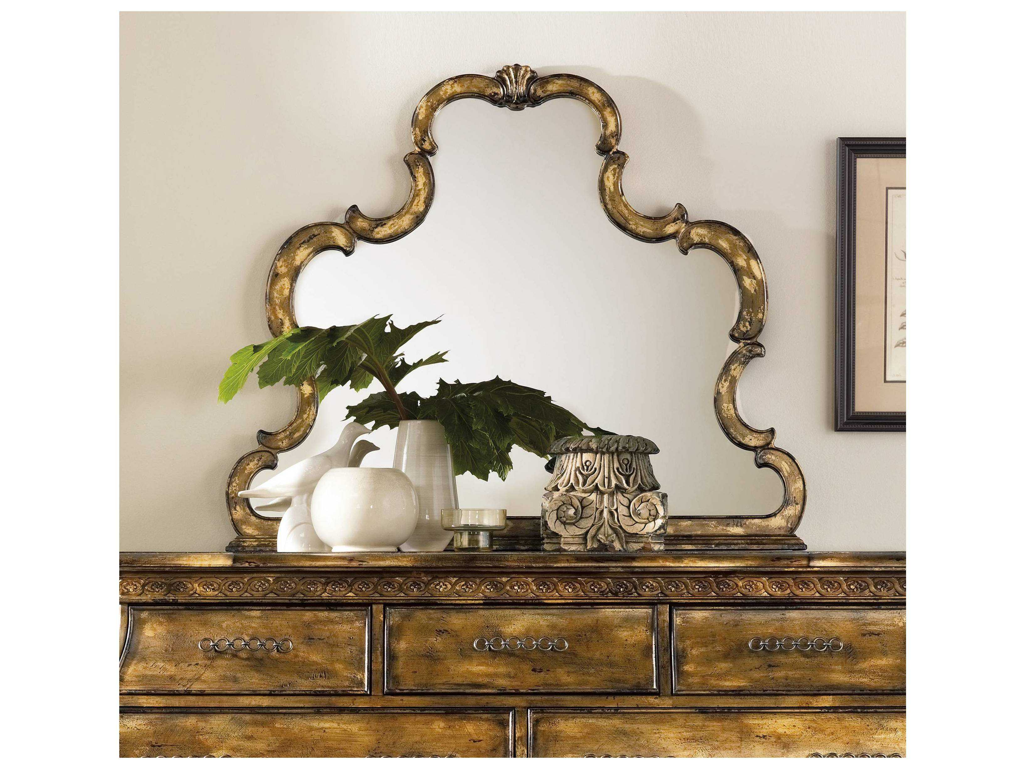 Most Current Hooker Furniture Sanctuary Bling 45''w X 38''h Landscape Wall Mirror With Landscape Wall Mirrors (View 15 of 20)