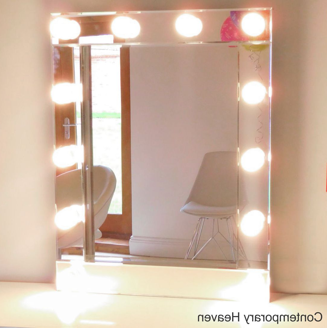 Most Current Illuminated Hollywood Bevelled Wall Mirror (View 13 of 20)