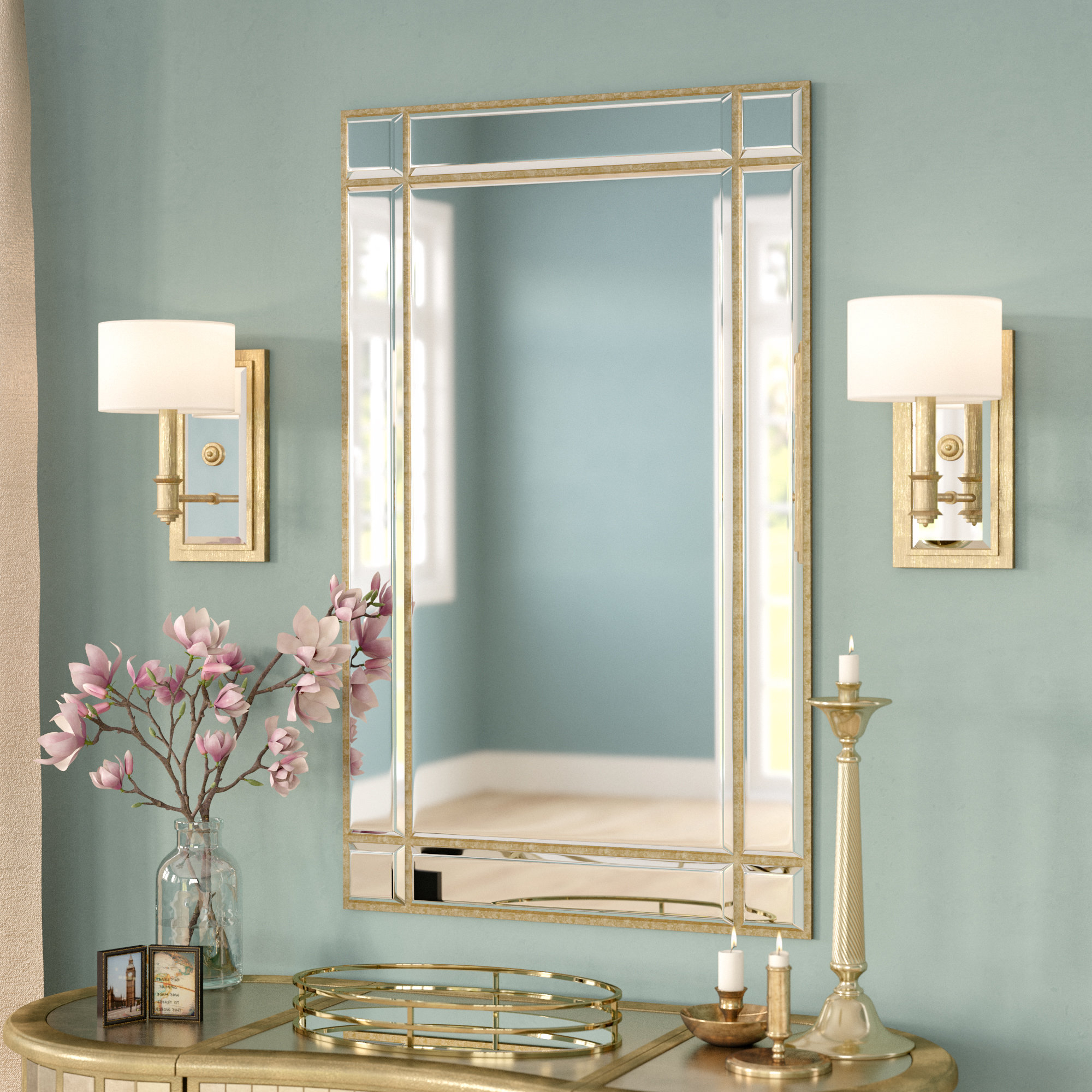 Most Current Kallas Accent Mirror Inside Astrid Modern & Contemporary Accent Mirrors (View 19 of 20)