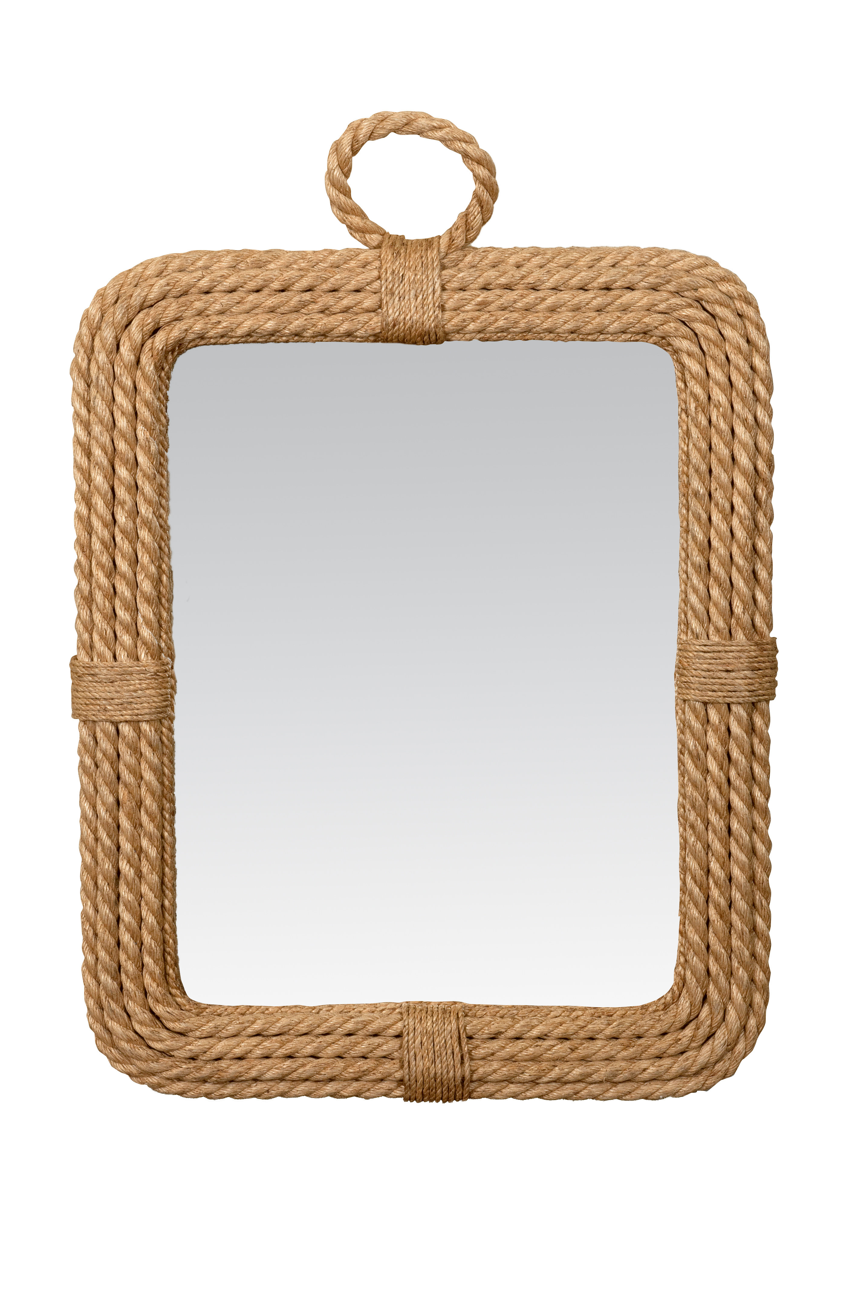 Most Current Knott Modern & Contemporary Accent Mirrors In Breakwater Bay Setzer Accent Mirror (View 7 of 20)