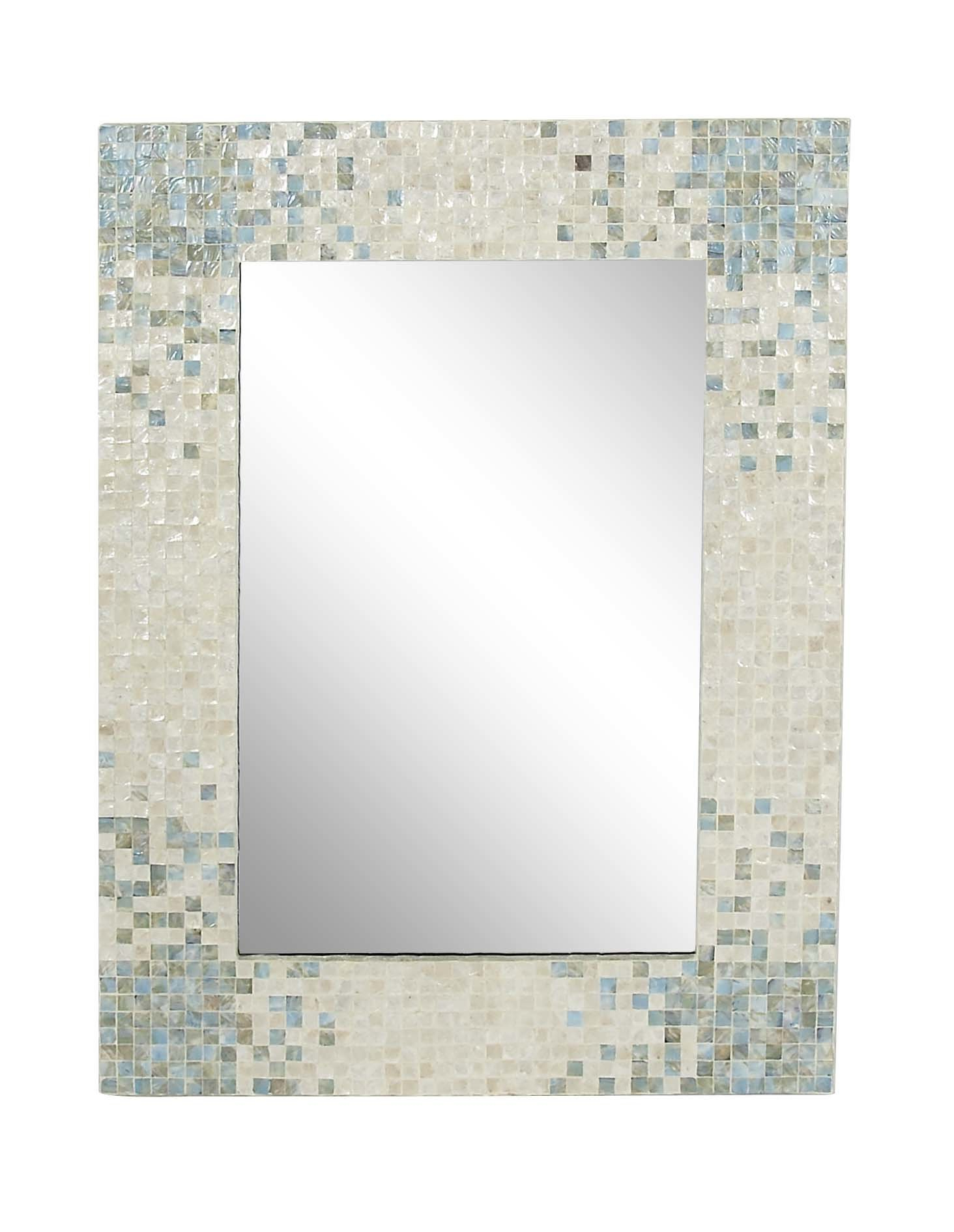 Most Current Koeller Industrial Metal Wall Mirrors Within Ingram Modern & Contemporary Accent Mirror (View 12 of 20)
