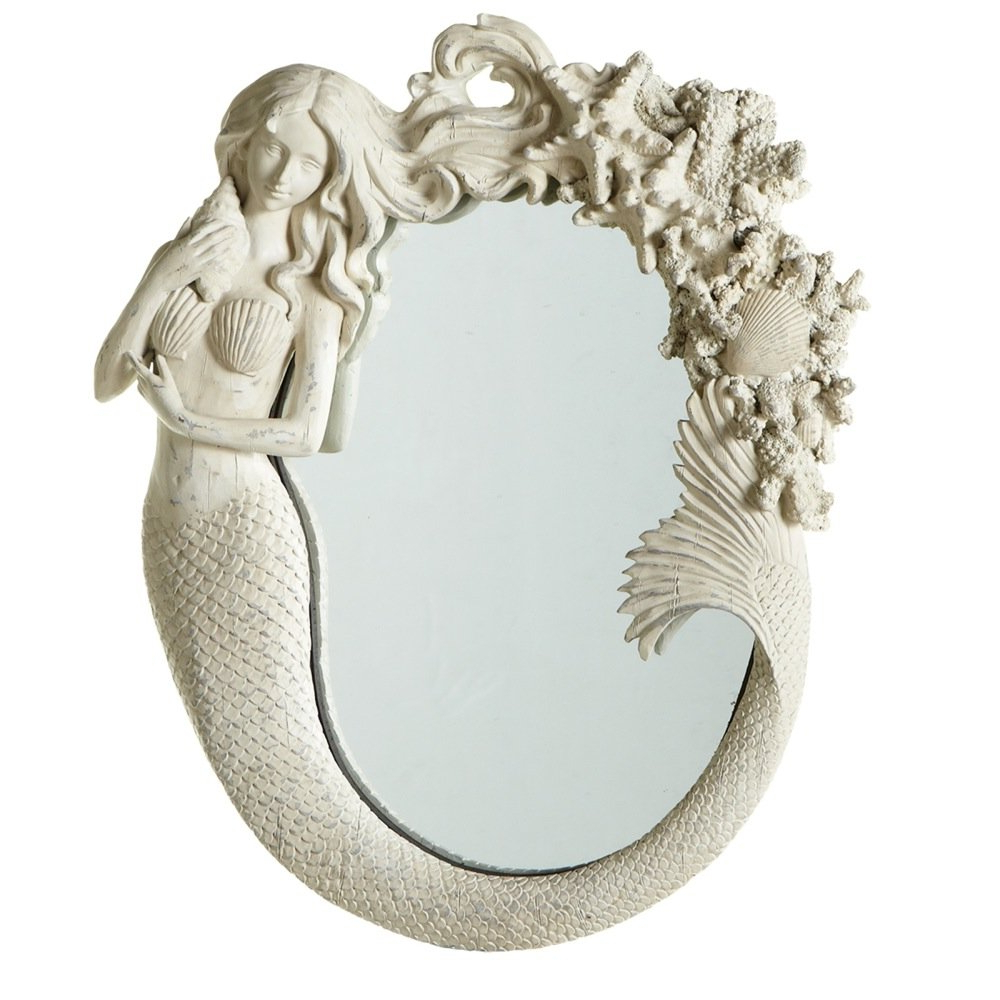 Most Current Mermaid Wall Mirrors With Amazon: Midwest Cbk Mermaid Wall Mirror (View 7 of 20)