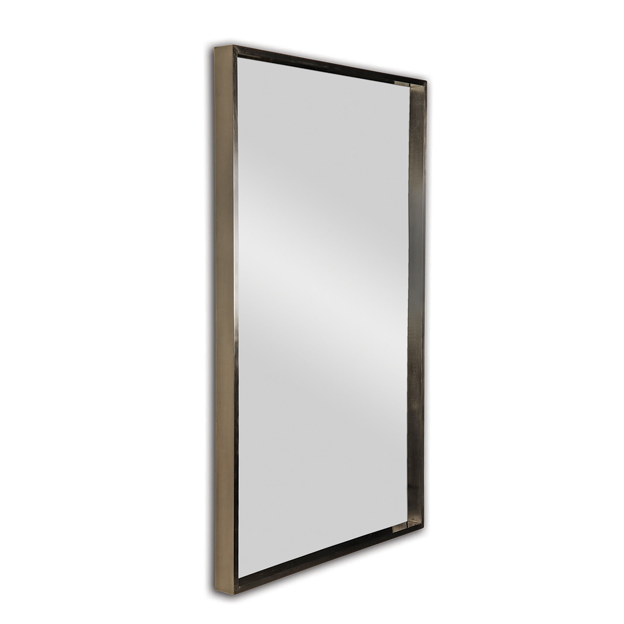 Most Current Modern & Contemporary Beveled Overmantel Mirrors With Regard To Nesbit Modern & Contemporary Accent Mirror (View 18 of 20)