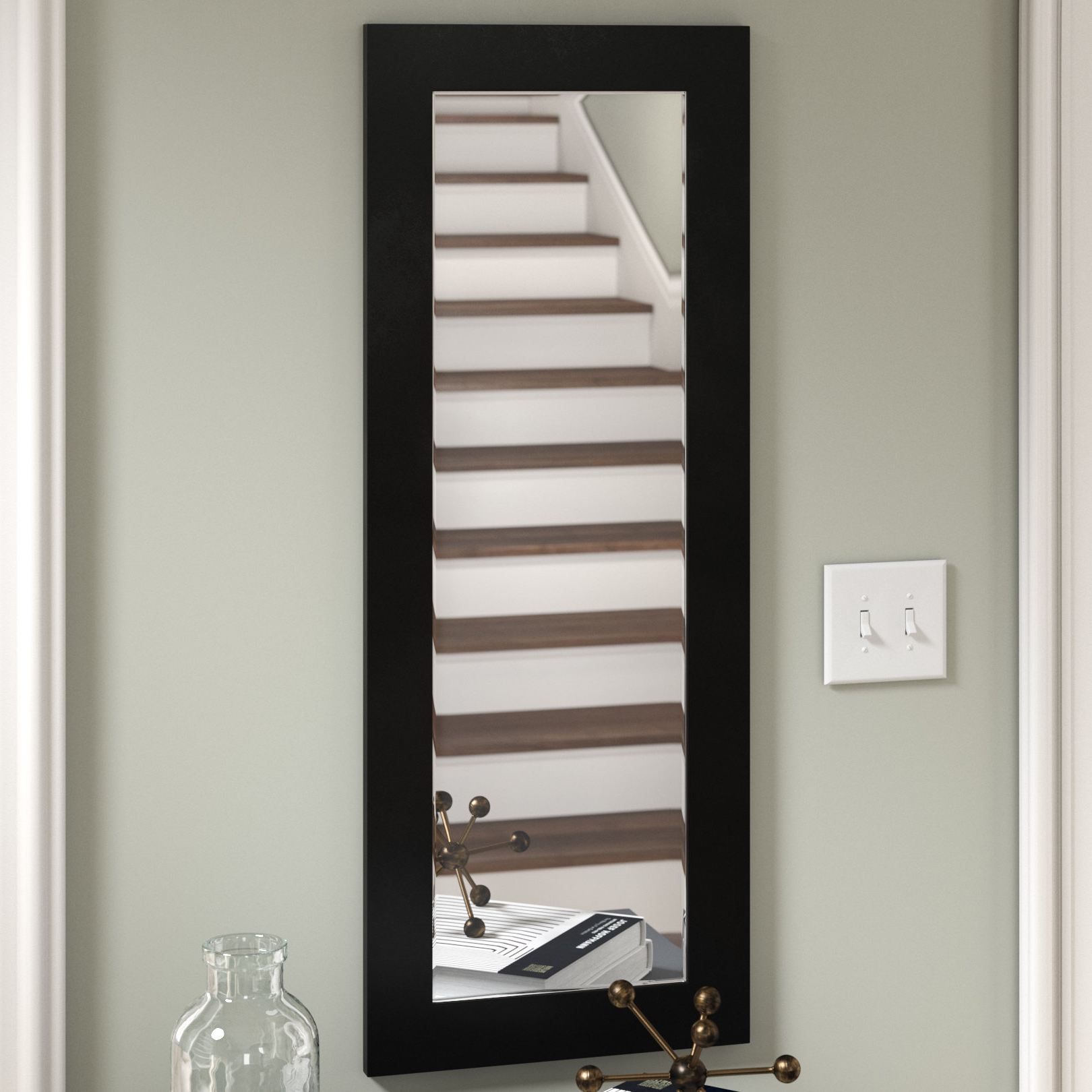 Most Current Modern Rectangle Wall Mirrors With Regard To Modern Rectangle Wall Mirror (View 4 of 20)