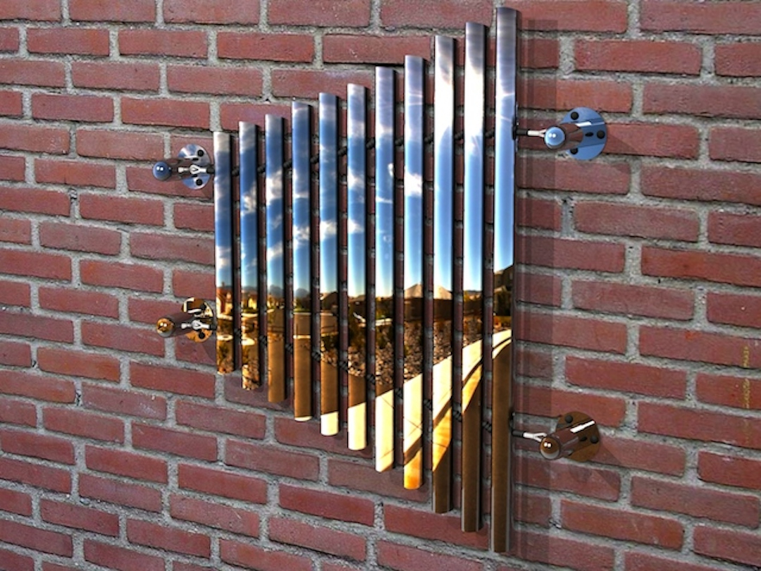 Most Current Outdoor Wall Mirrors With Outdoor Garden Mirrors Exterior Mirror With Shutters Decoration (View 9 of 20)