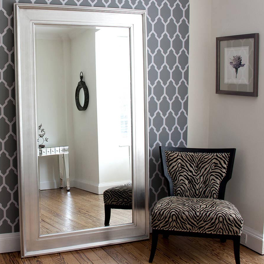 Most Current Oversized Wall Mirrors Inside Oversized Framed Wall Mirrors (View 15 of 20)