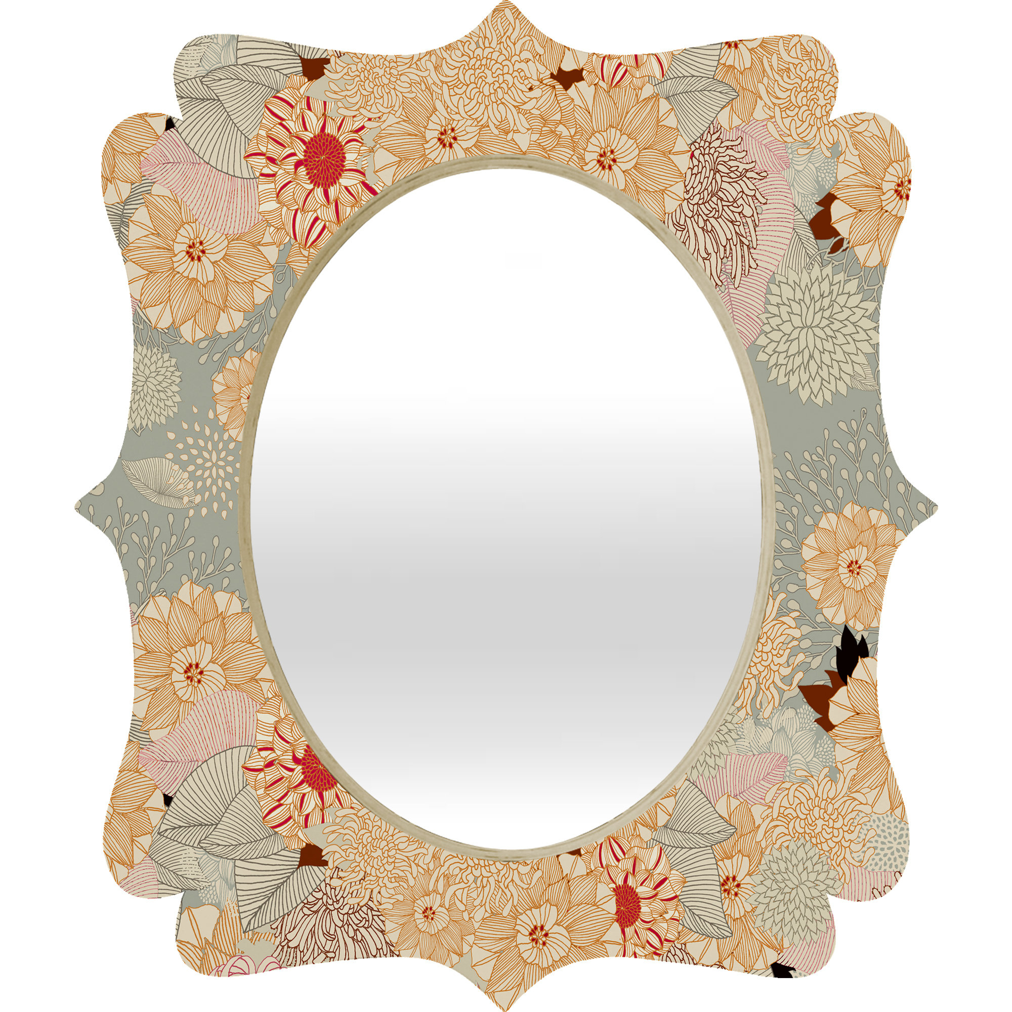Most Current Quatrefoil Wall Mirrors For Creme Quatrefoil Wall Mirror (View 16 of 20)