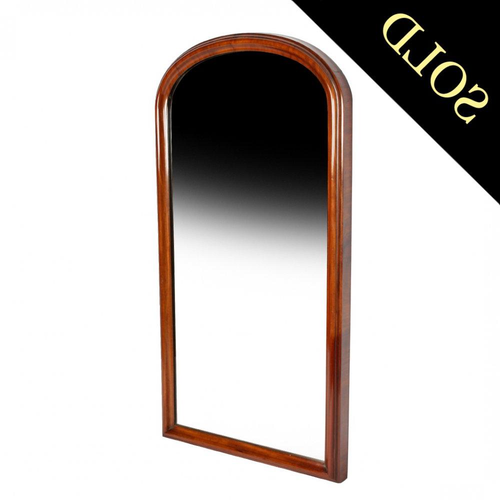 Most Current Tall Victorian Mahogany Wall Mirror Pertaining To Mahogany Wall Mirrors (View 11 of 20)