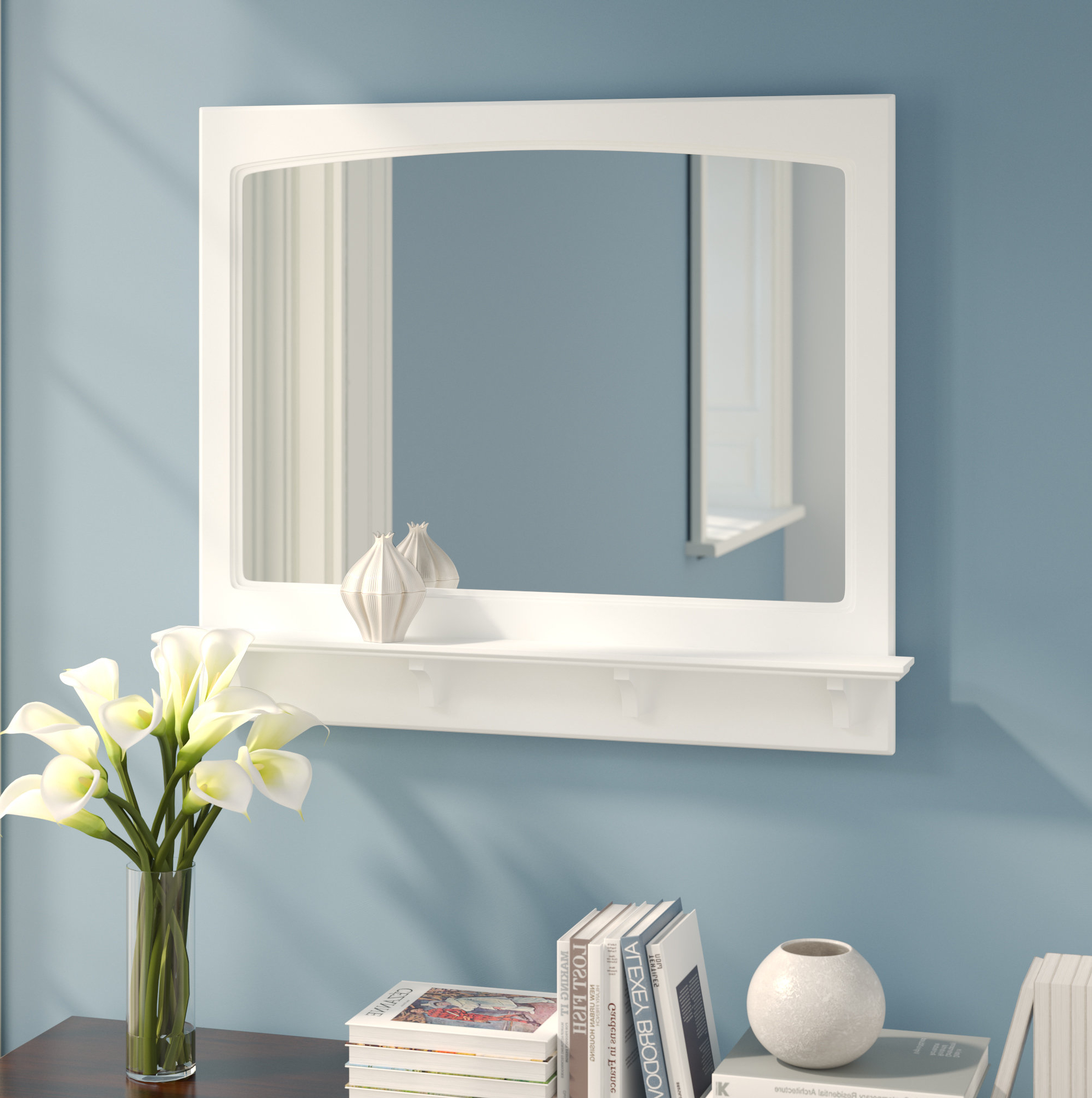 Most Current Tellier Accent Wall Mirrors With Searle Accent Mirror (View 10 of 20)
