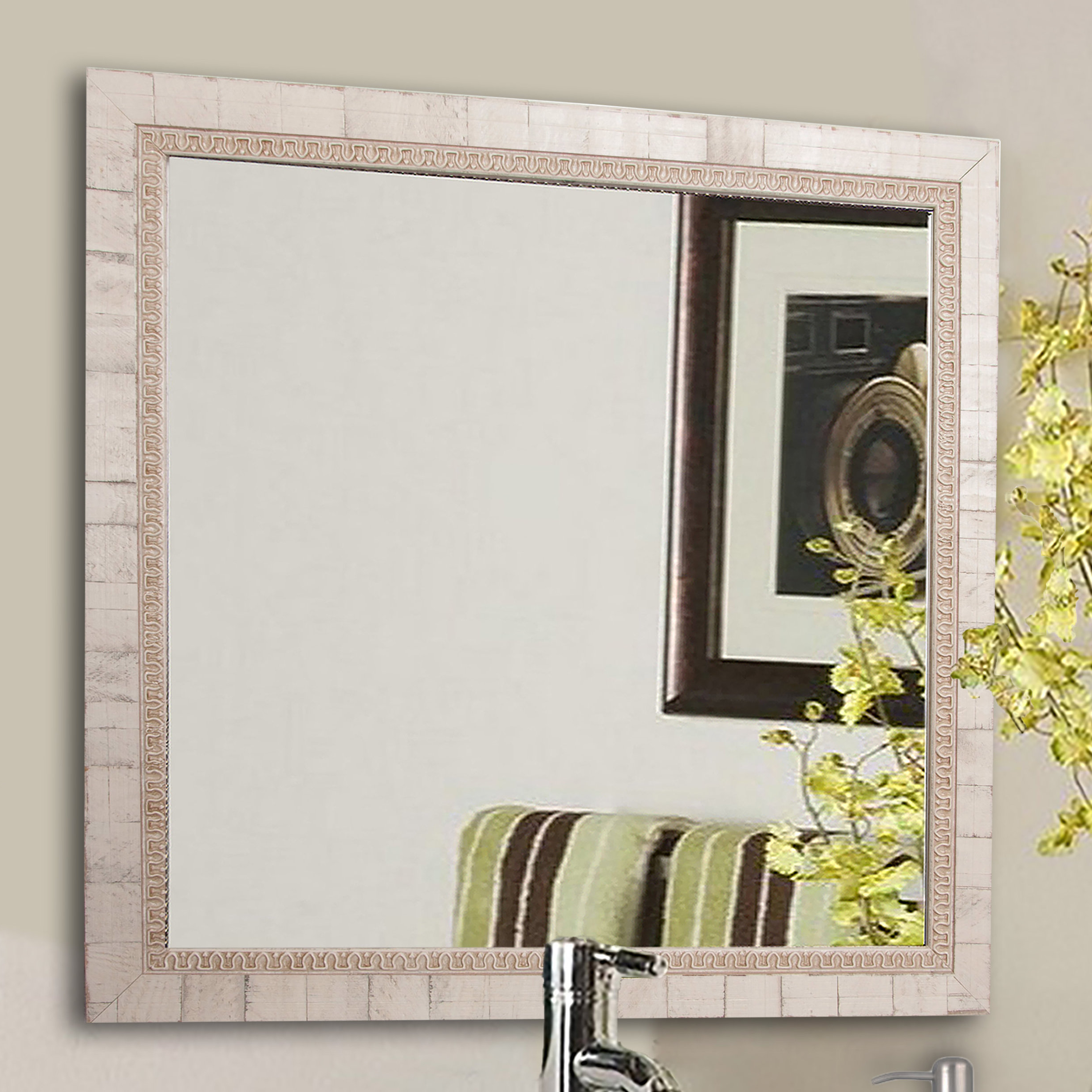 Most Current Tuscan Style Wall Mirrors With Regard To Lathrop Tuscan Wall Mirror (View 9 of 20)