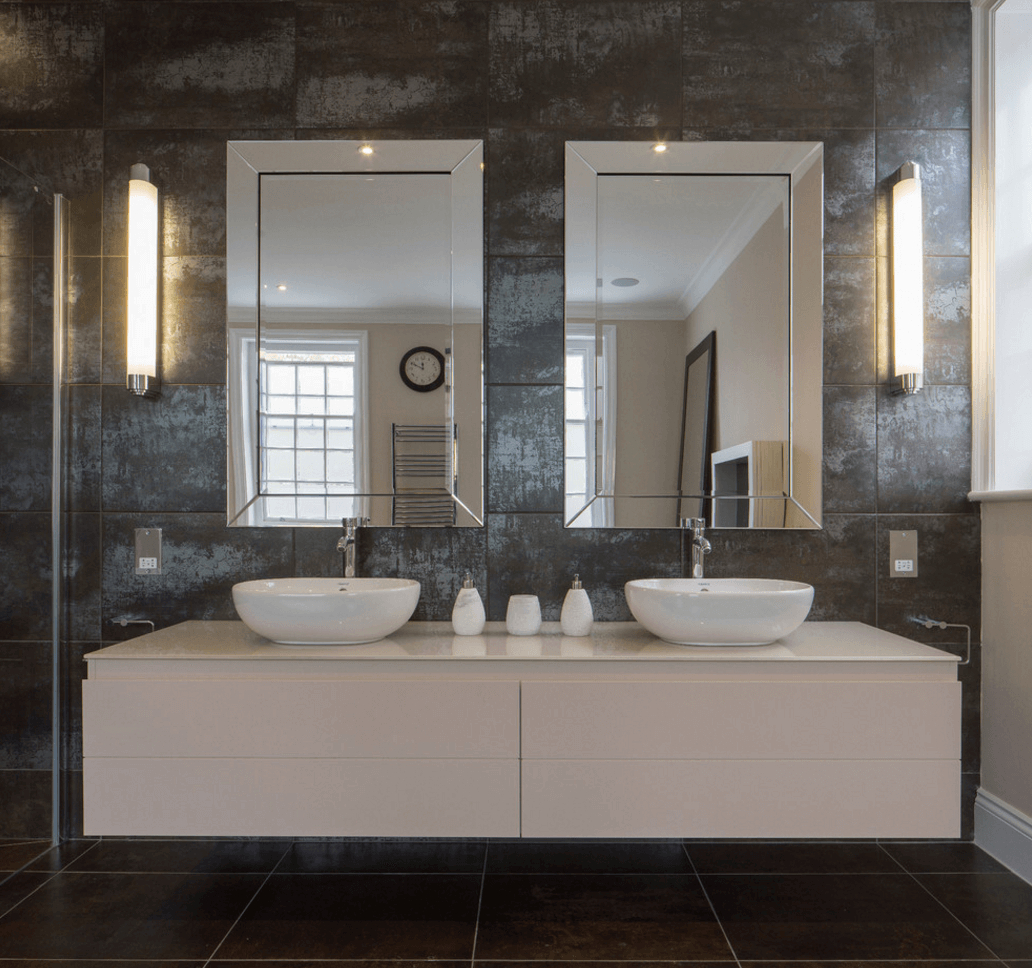 Most Current Wall Mirror For Bathroom Inside 38 Bathroom Mirror Ideas To Reflect Your Style – Freshome (View 17 of 20)