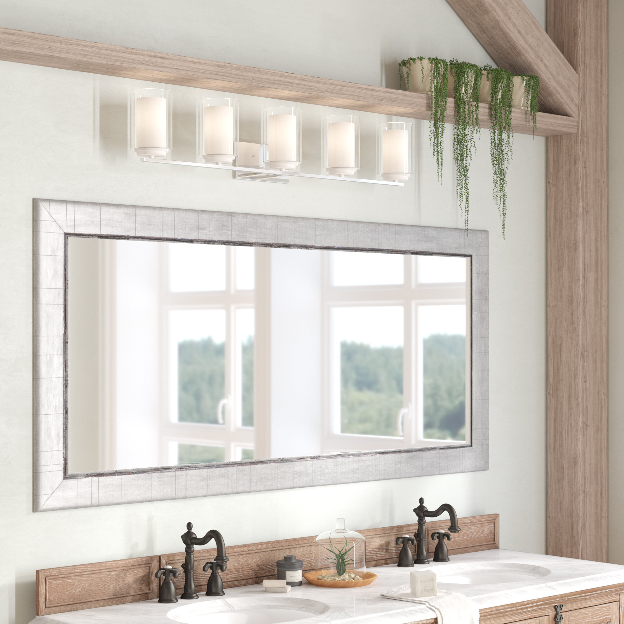 Most Current Wall Mirrors For Bathroom Vanities Within Dostie Bathroom/vanity Mirror (View 2 of 20)