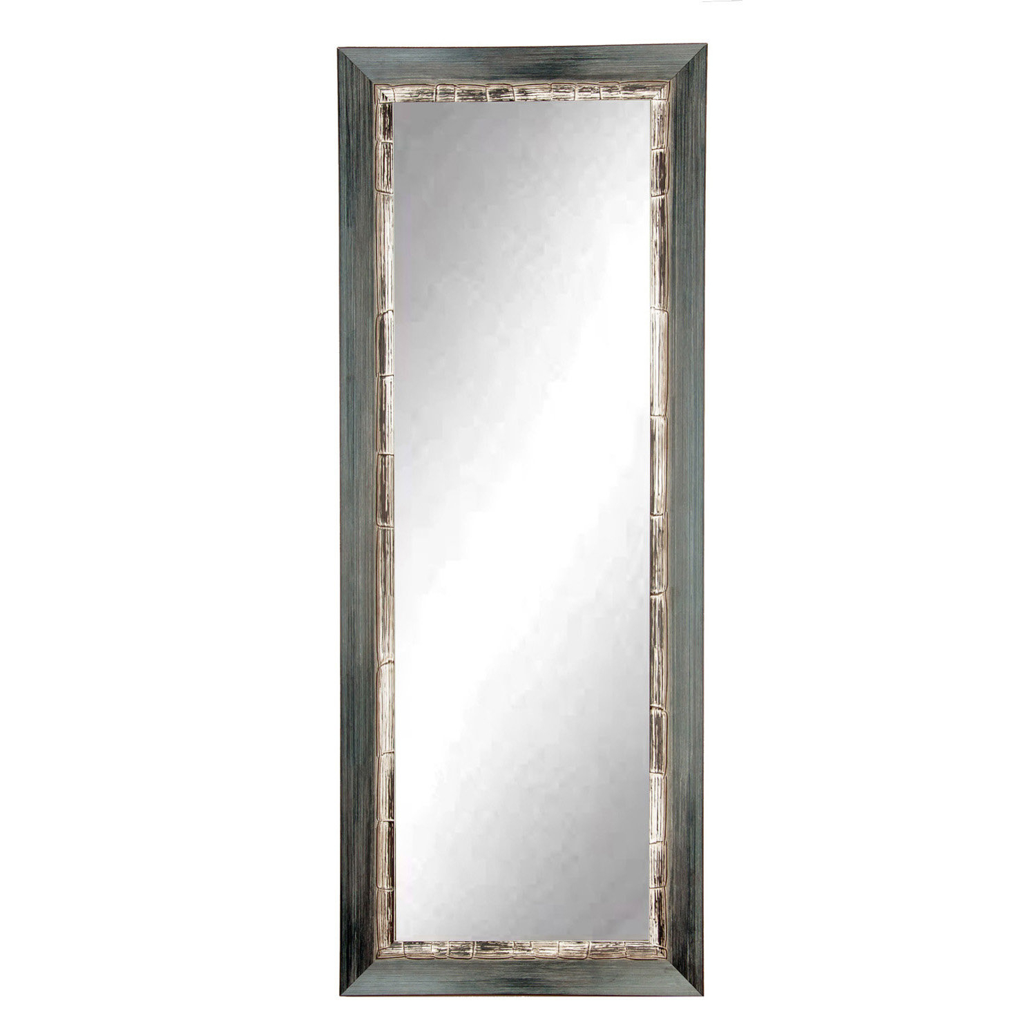 Most Current Weathered Full Length Wall Mirror Regarding Full Length White Wall Mirrors (View 10 of 20)