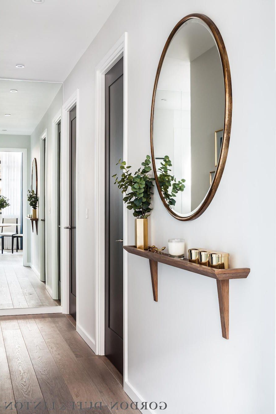 Most Popular 30 Of The Most Pretty & Practical Entryways (View 12 of 20)