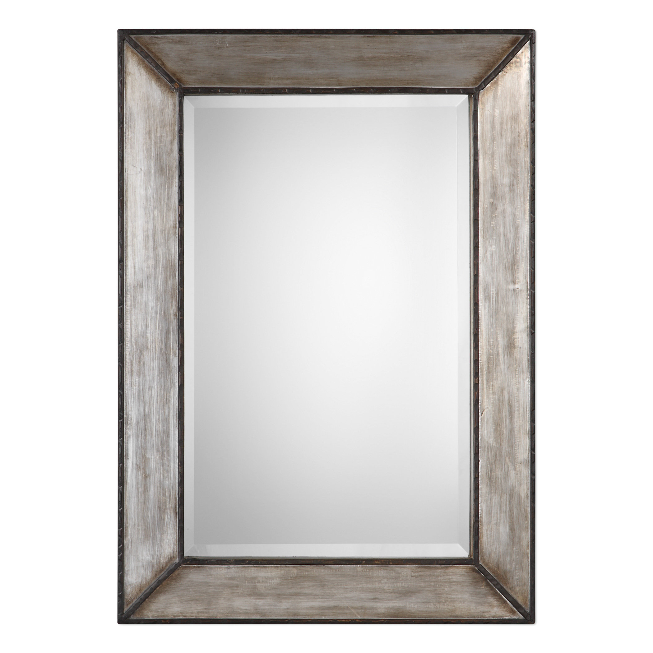 Most Popular Abdul Accent Mirrors Inside Greyleigh Terri Traditional Rectangle Framed Accent Mirror (Gallery 19 of 20)