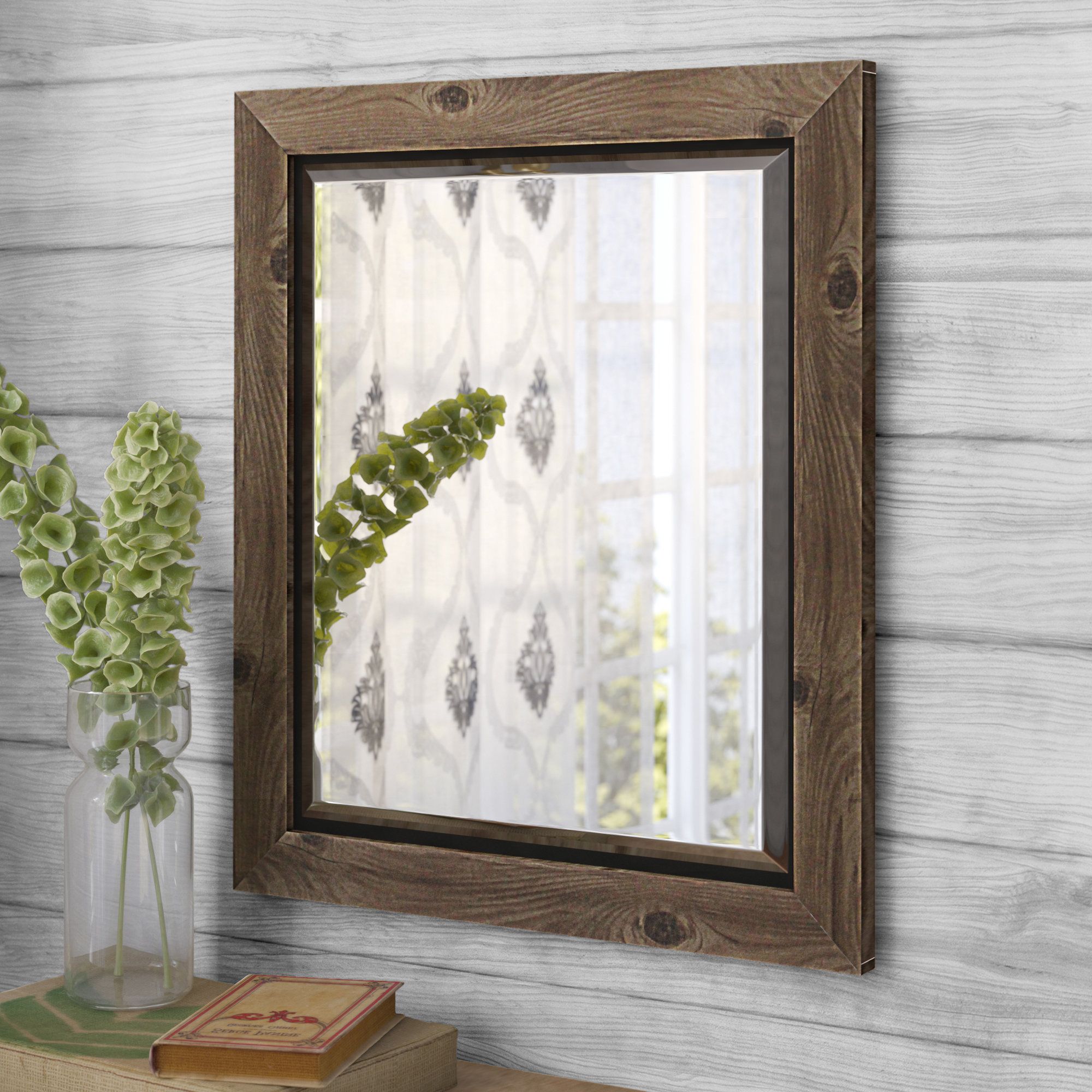 Most Popular Alyssa Accent Wall Mirror For Glynis Wild West Accent Mirrors (View 12 of 20)