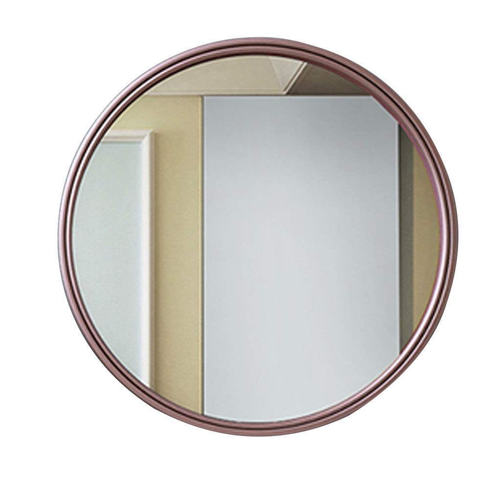 Most Popular Amazon: Wall Mirror Round Metal Glass Shatterproof 30/40/50/60 With Shatterproof Wall Mirrors (View 3 of 20)