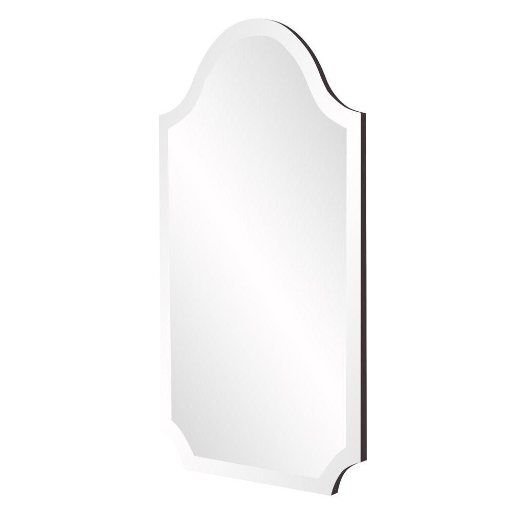 Most Popular Dariel Tall Arched Scalloped Wall Mirrors With Willa Arlo Interiors Dariel Tall Arched Scalloped Wall Mirror (View 4 of 20)