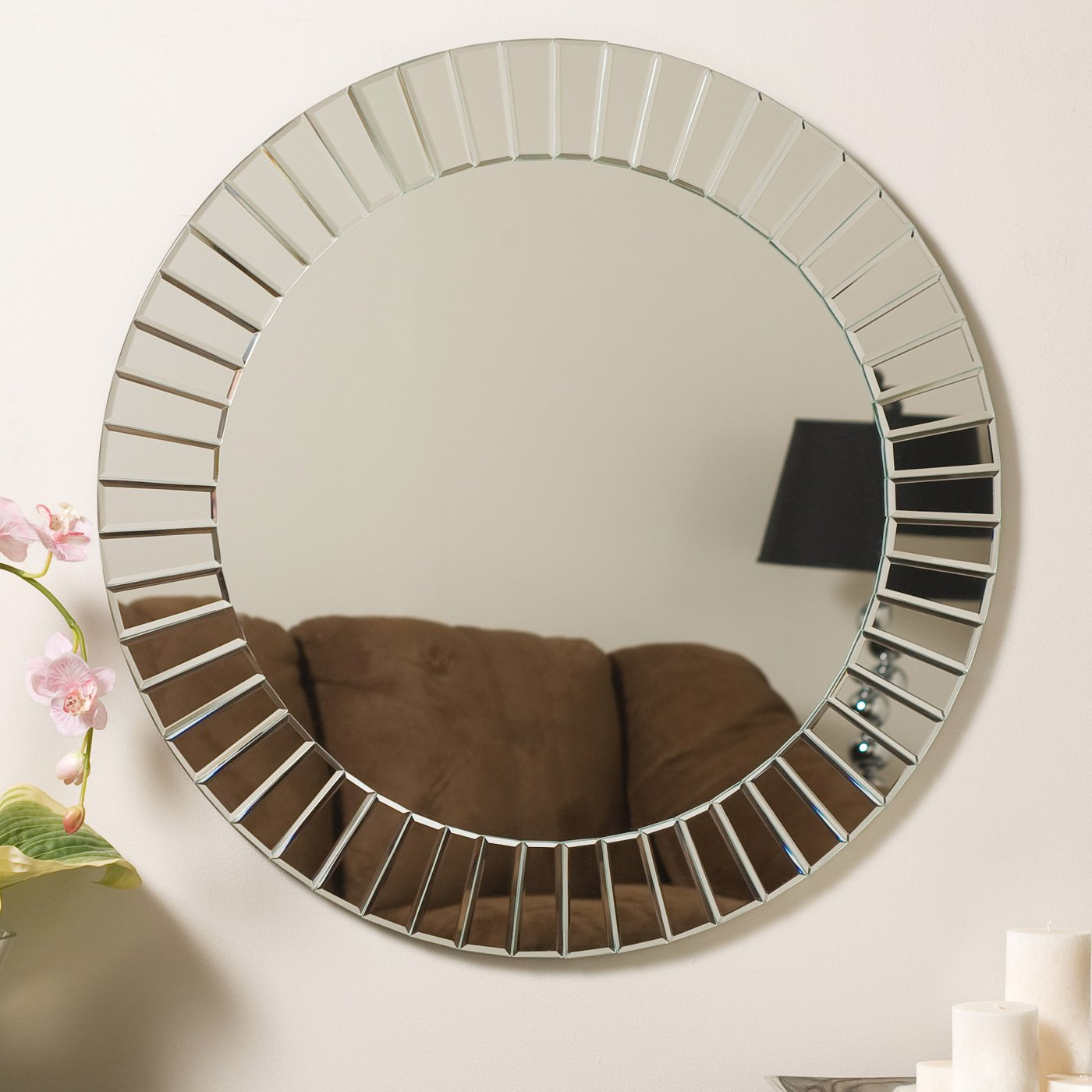 20 Best Frameless Round Wall Mirrors