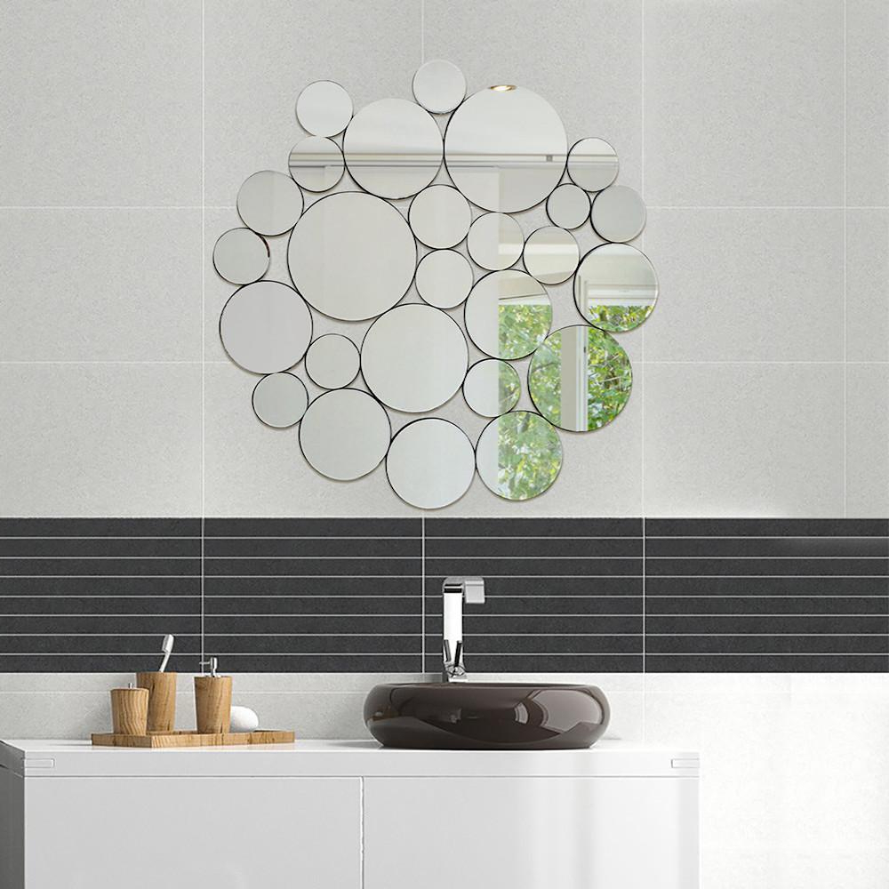 Most Popular Decorative Round Wall Mirrors With 39 X 40.5 In (View 15 of 20)