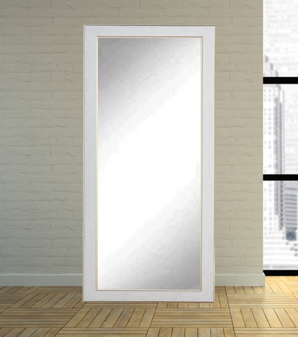 Most Popular Floor To Wall Mirrors For White/gold Cracked Full Length Wall Mirror (View 19 of 20)
