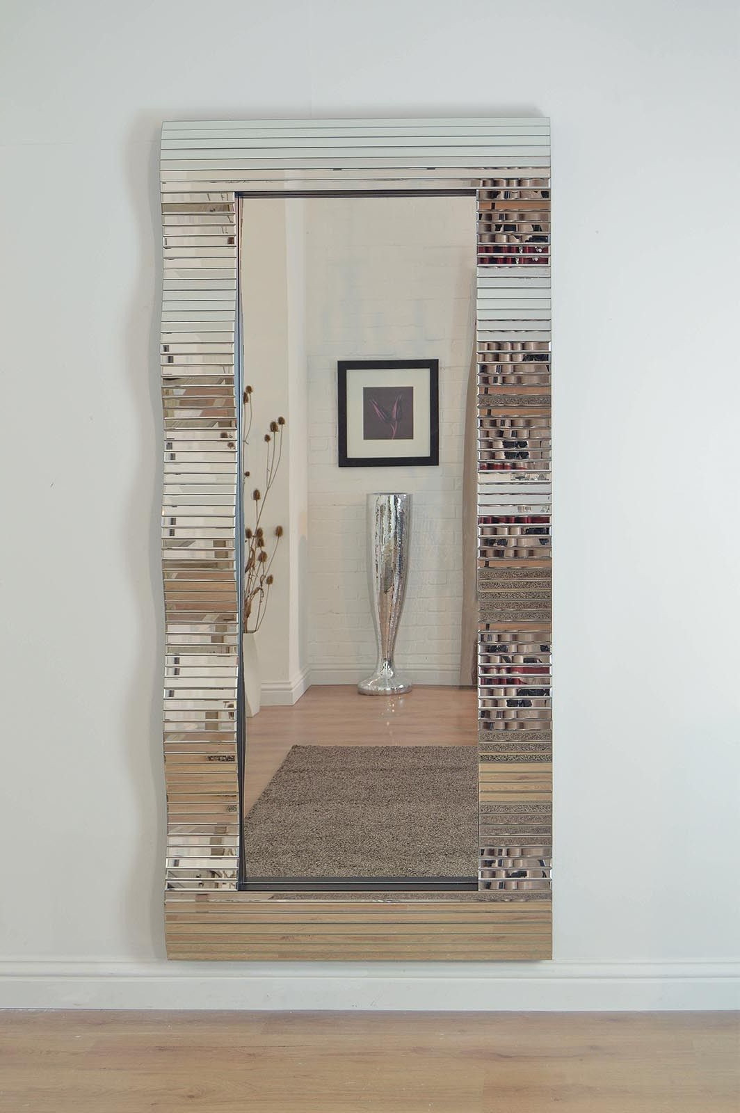 Most Popular Full Length Decorative Wall Mirrors Regarding Gorgeous Full Length Wall Mirrors (View 13 of 20)