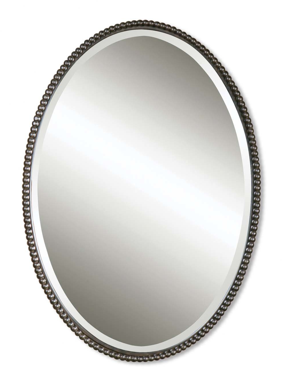 Most Popular Glen View Beaded Oval Traditional Accent Mirror Inside Glen View Beaded Oval Traditional Accent Mirrors (View 12 of 20)