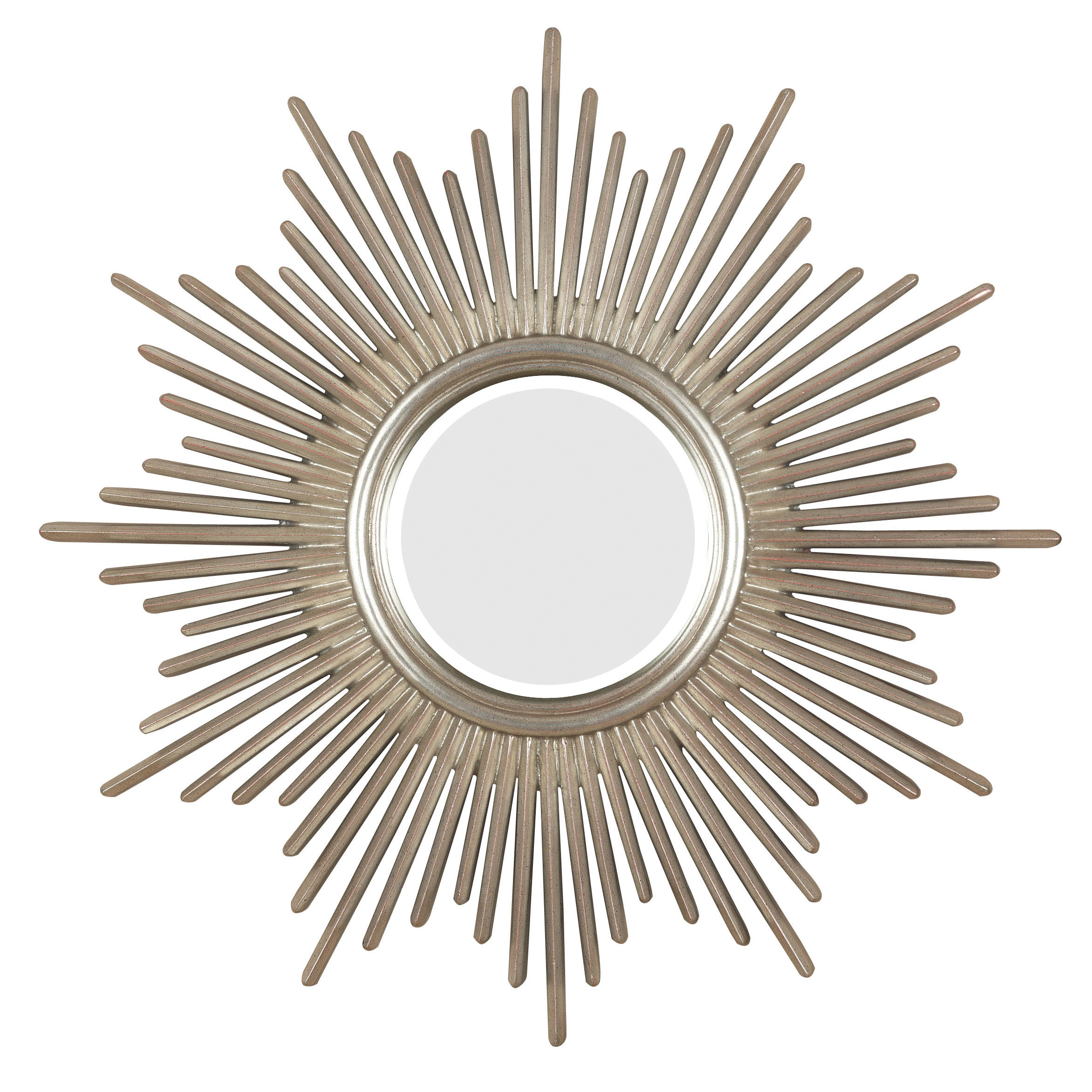 Most Popular Josephson Starburst Glam Beveled Accent Wall Mirror Pertaining To Brynn Accent Mirrors (Gallery 13 of 20)