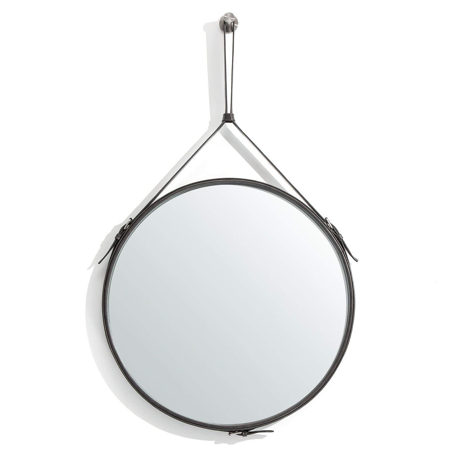 Most Popular Kentwood Round Wall Mirrors Throughout Buy Decorative Wall Mirror Round Shape Kentwood Collection Framed (View 17 of 20)