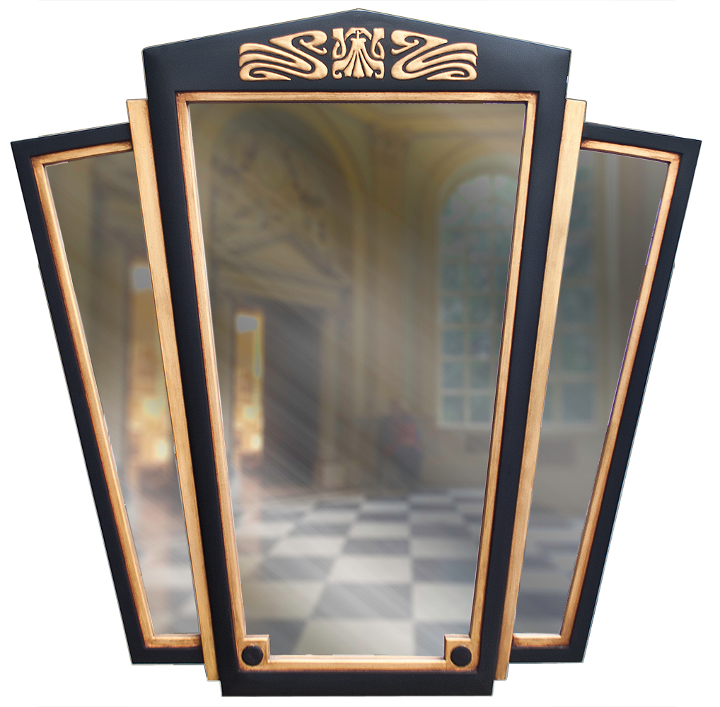 Most Popular Large Art Deco Wall Mirror – Decorative Wall Mirrors Uk – Art Deco Pertaining To Art Deco Wall Mirrors (View 7 of 20)