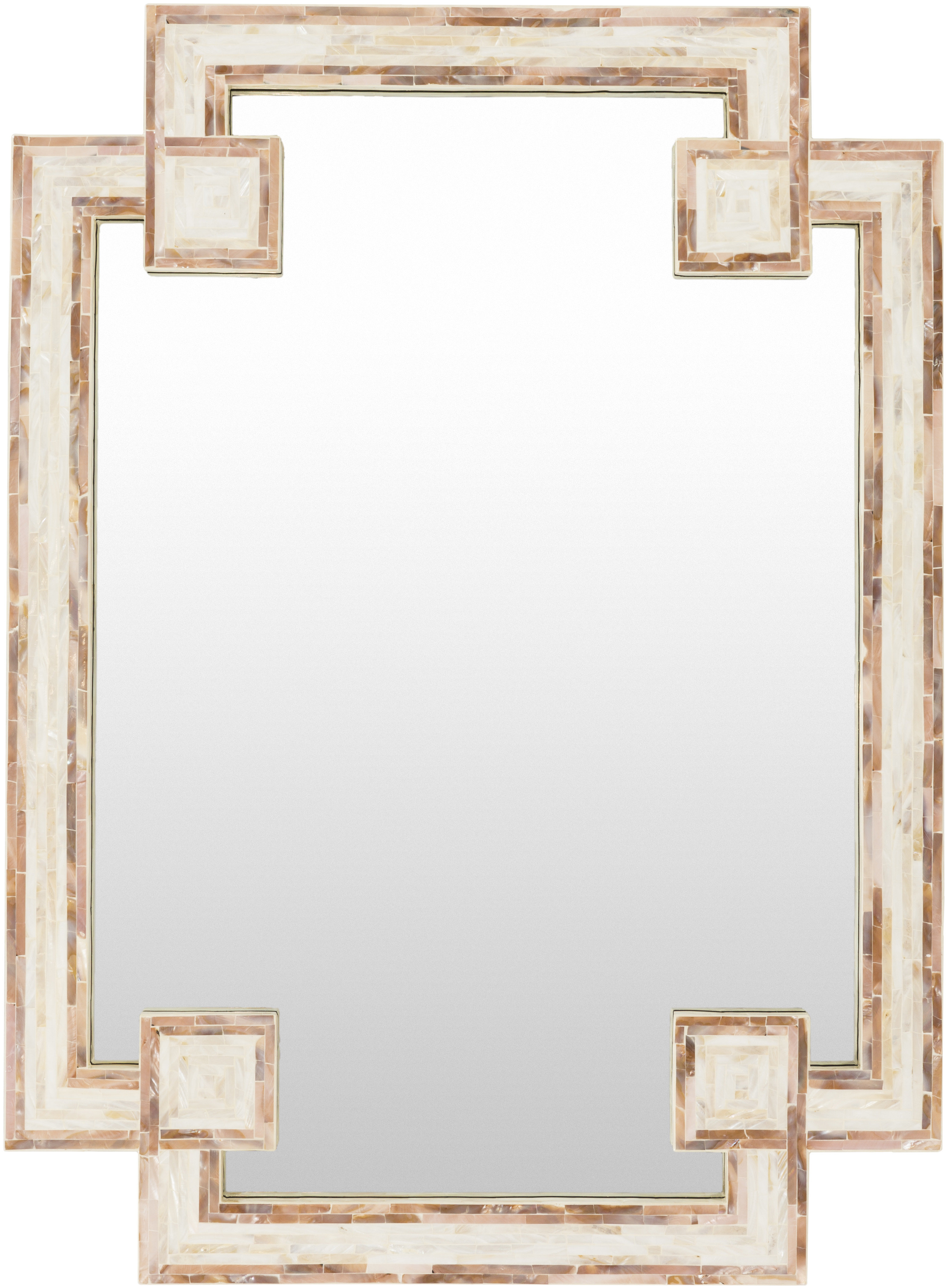 Most Popular Latrell Modern & Contemporary Wall Mirror Inside Ulus Accent Mirrors (View 9 of 20)