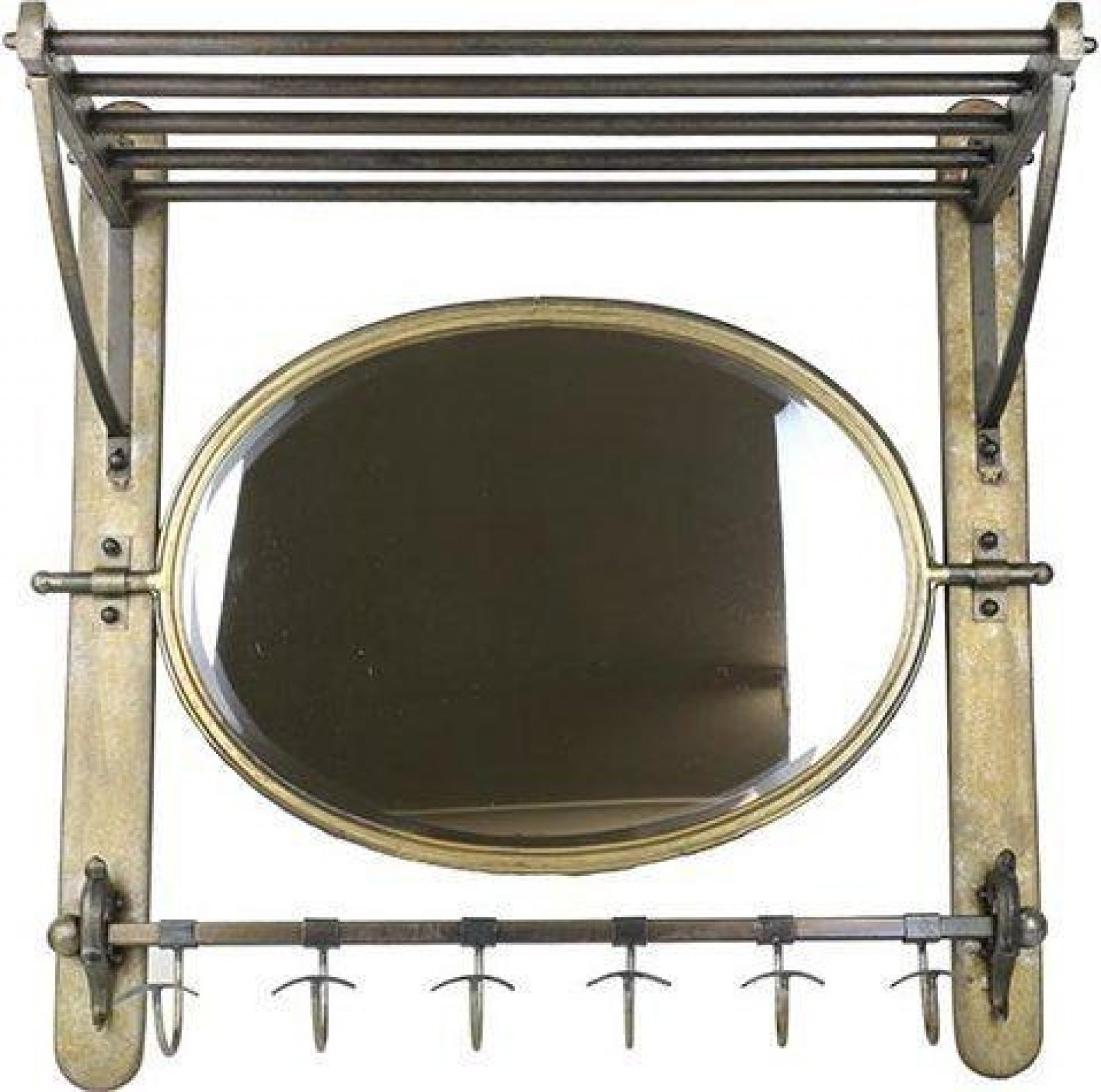 Most Popular Mirror Shelf With Hooks (View 6 of 20)